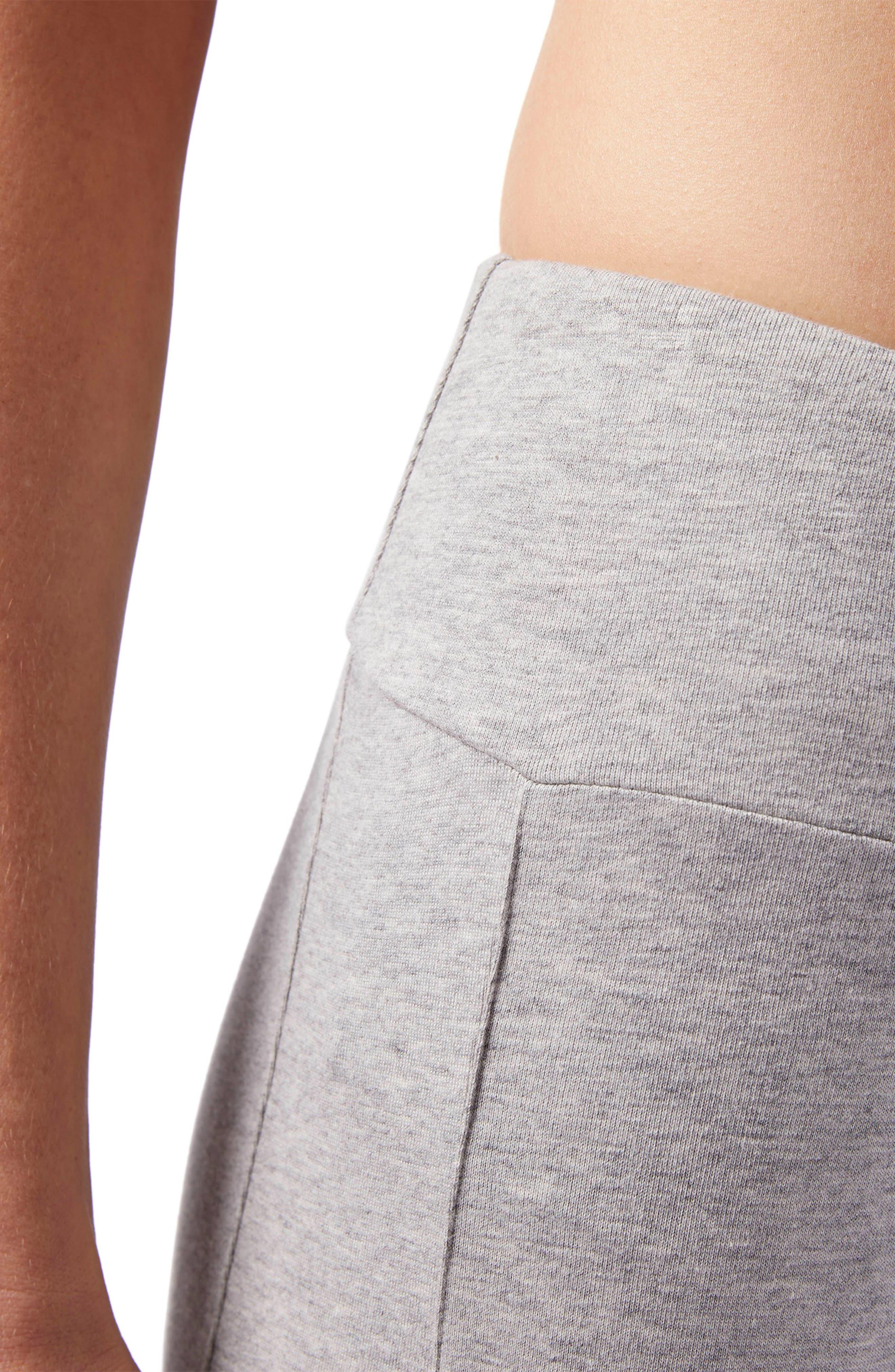 Classic Leggings,                             Alternate thumbnail 4, color,                             Medium Grey Heather