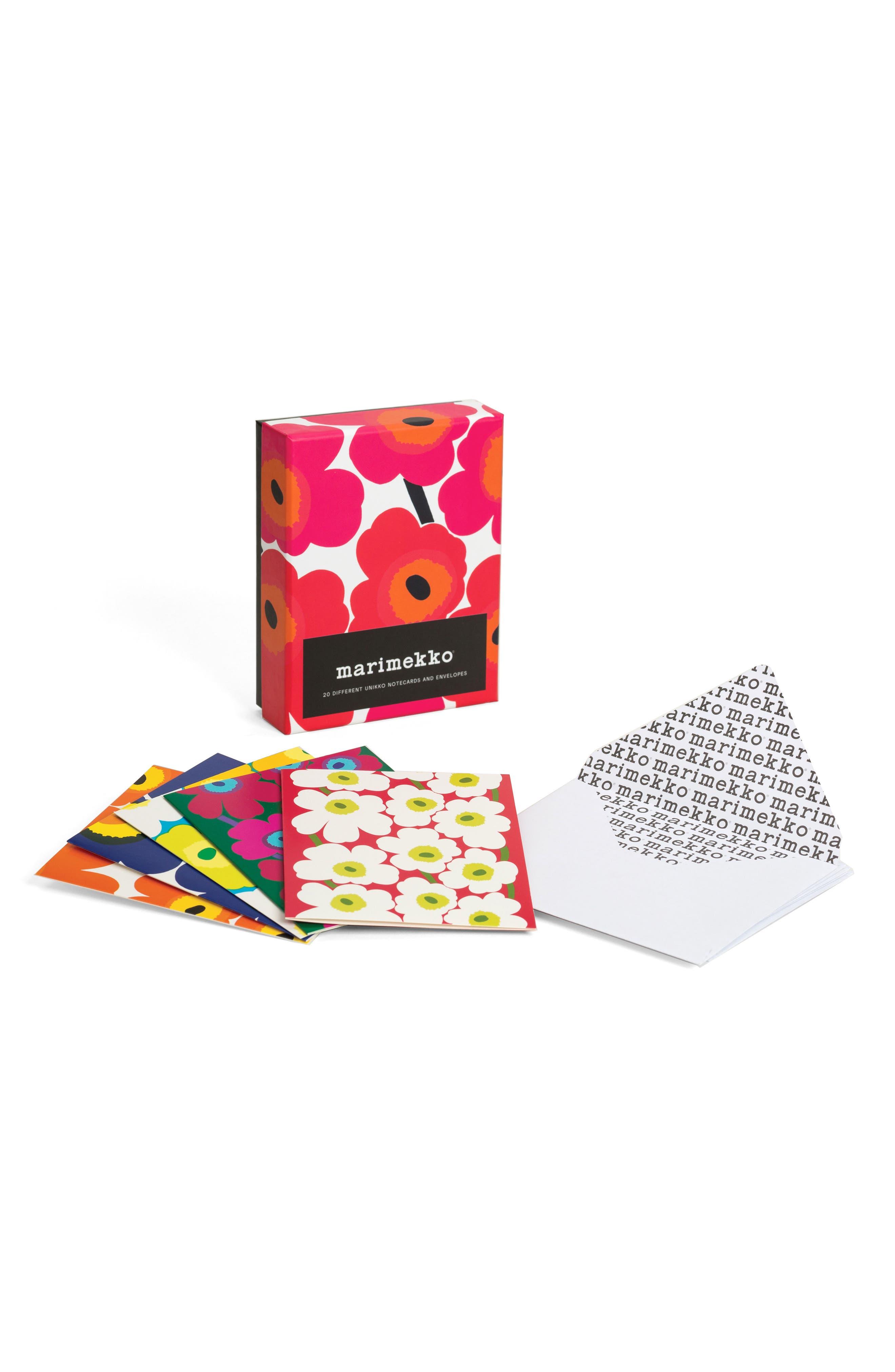 Alternate Image 2  - Chronicle Books Marimekko 20-Pack Note Cards