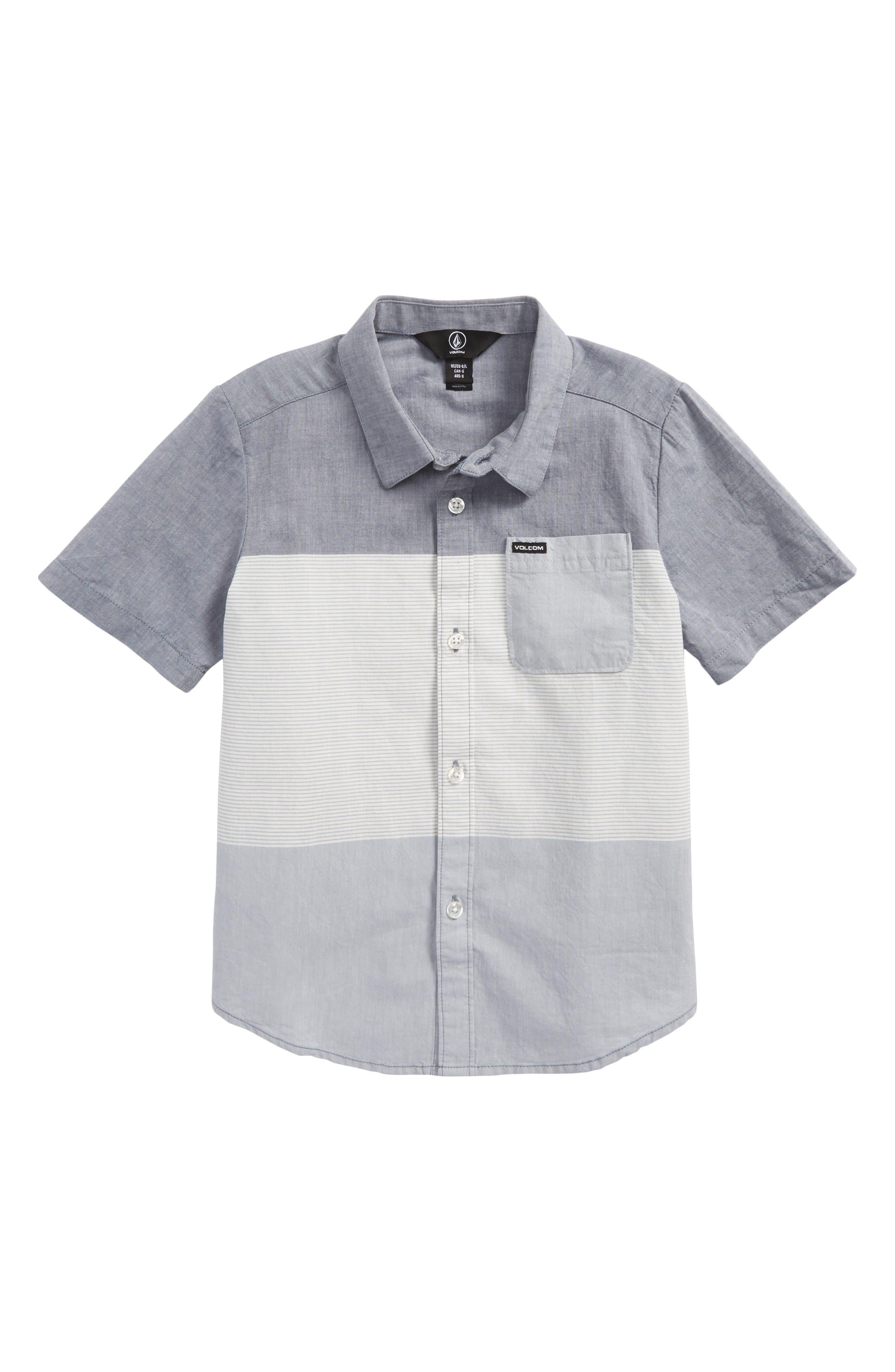 Crestone Woven Shirt,                         Main,                         color, Deep Blue