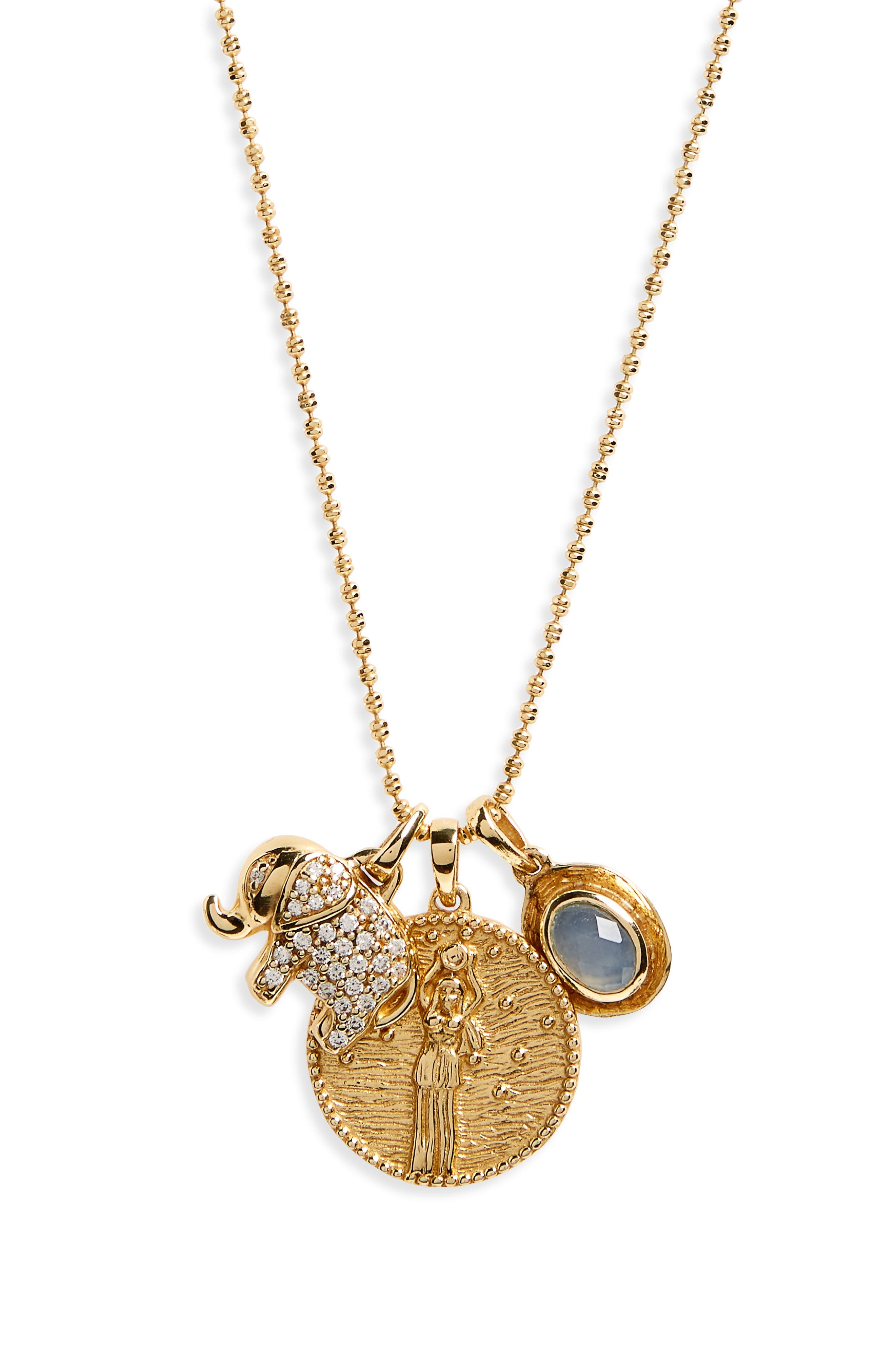 Melinda Maria Goddess of Prosperity Pendant Necklace