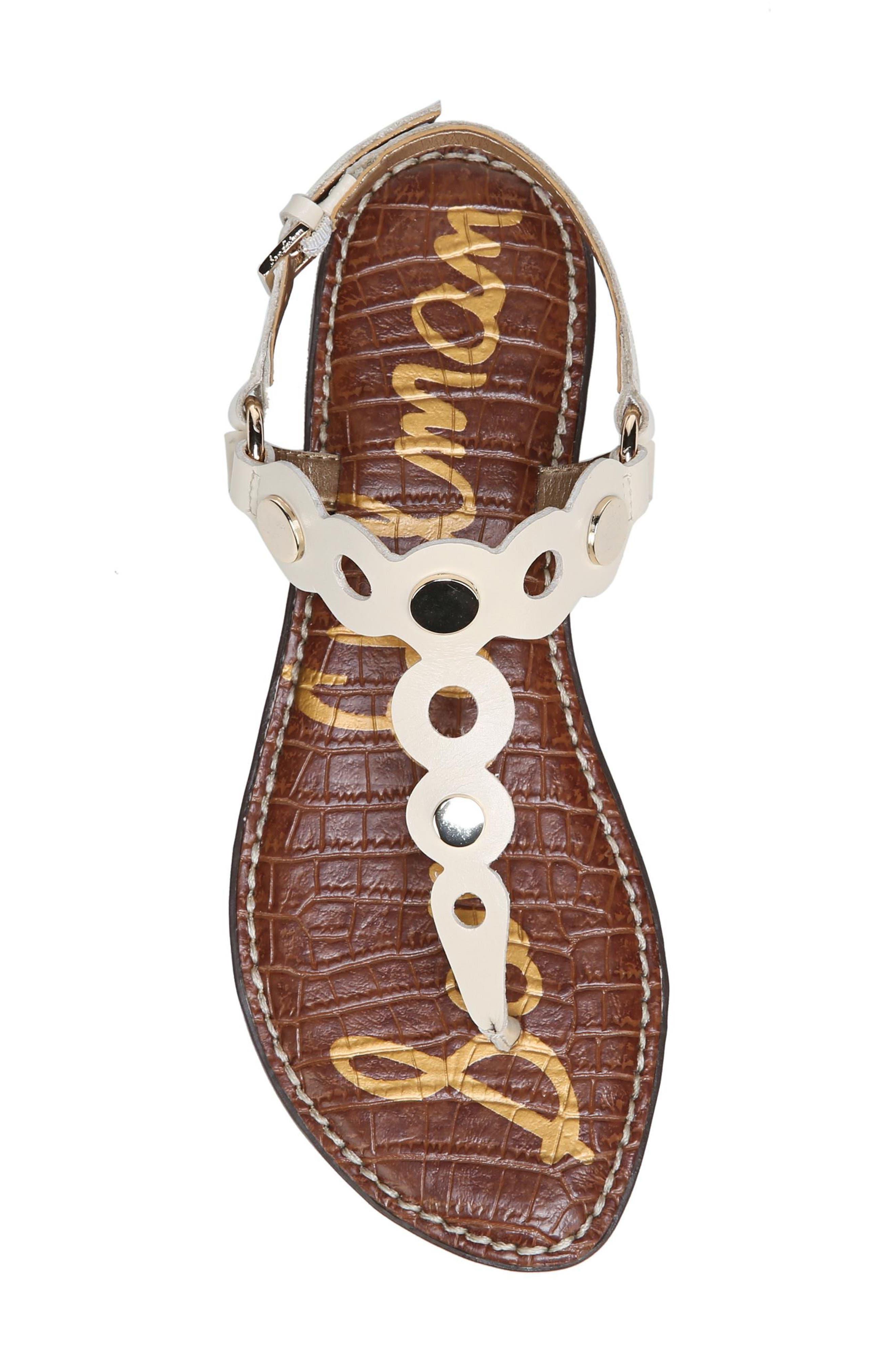 Alternate Image 5  - Sam Edelman Gilly T-Strap Sandal (Women)