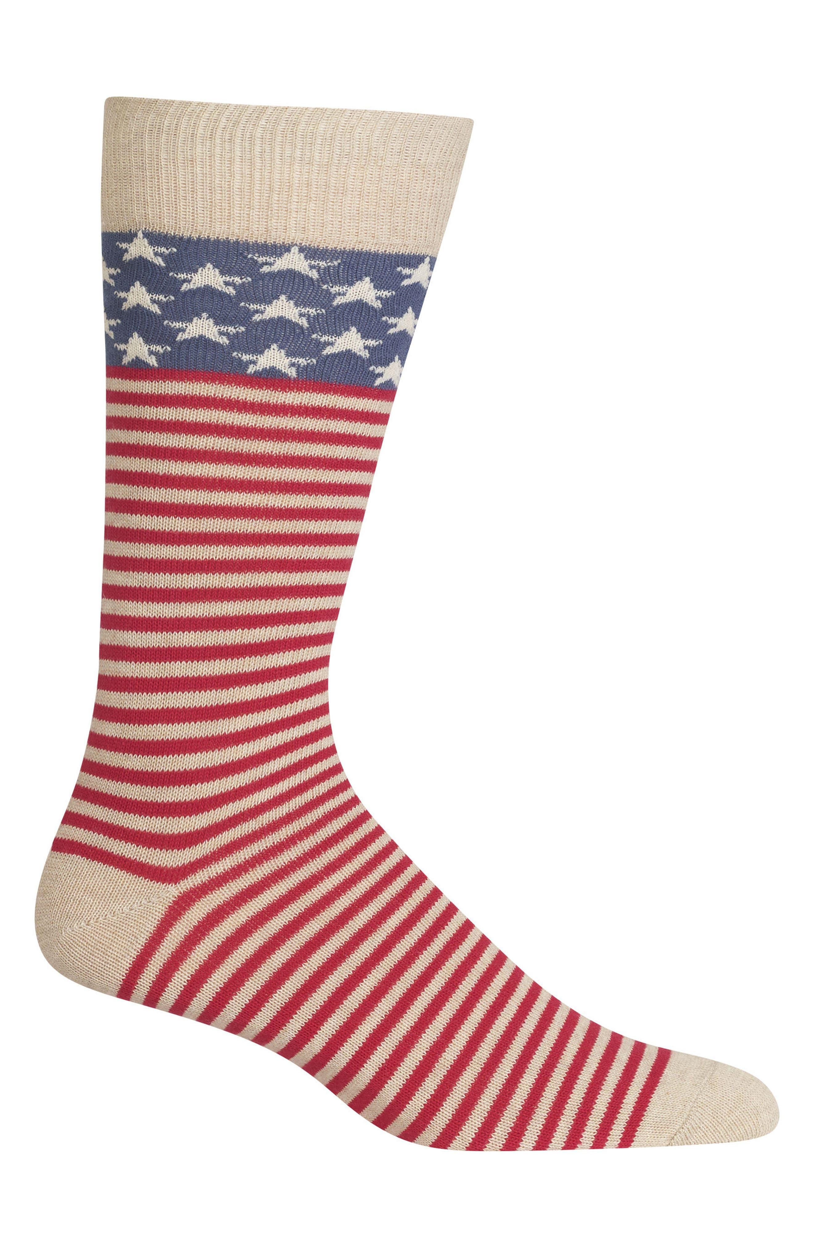 Ralph Lauren American Flag Socks
