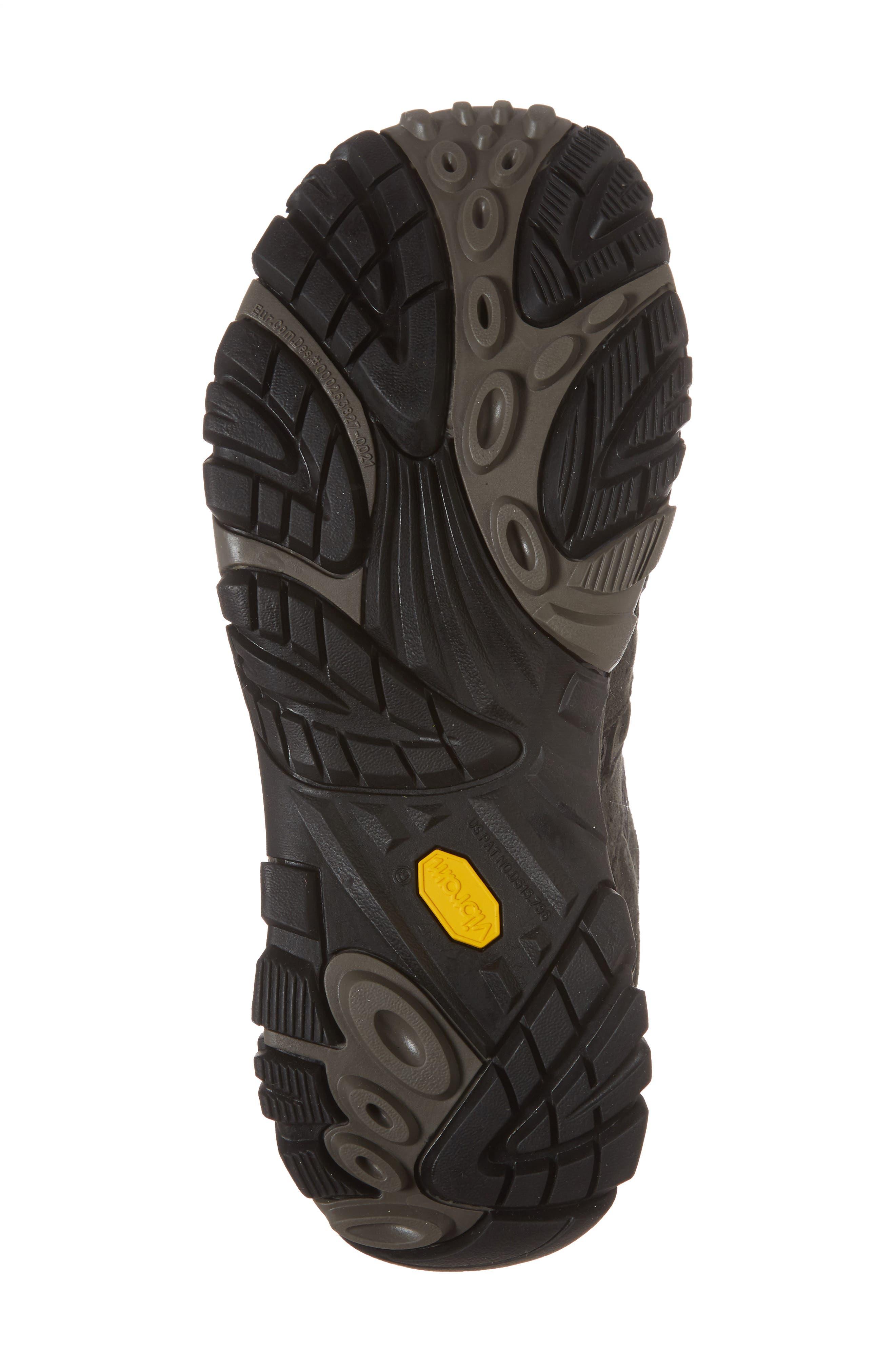 Moab 2 Waterproof HIking Shoe,                             Alternate thumbnail 6, color,                             Beluga/ Beluga