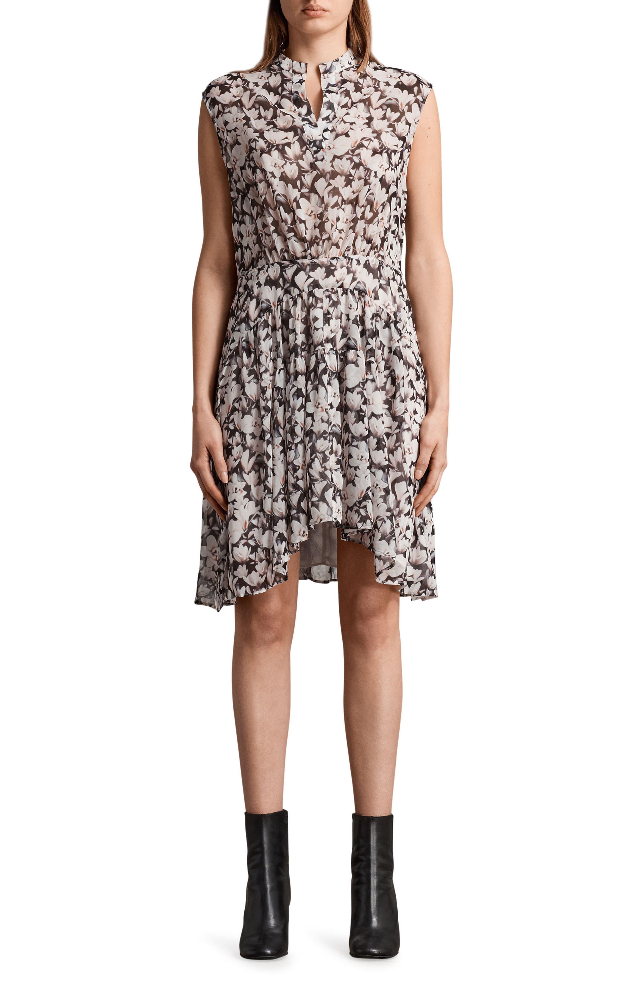 Victoria Magnolita Dress,                         Main,                         color, Dusty Pink