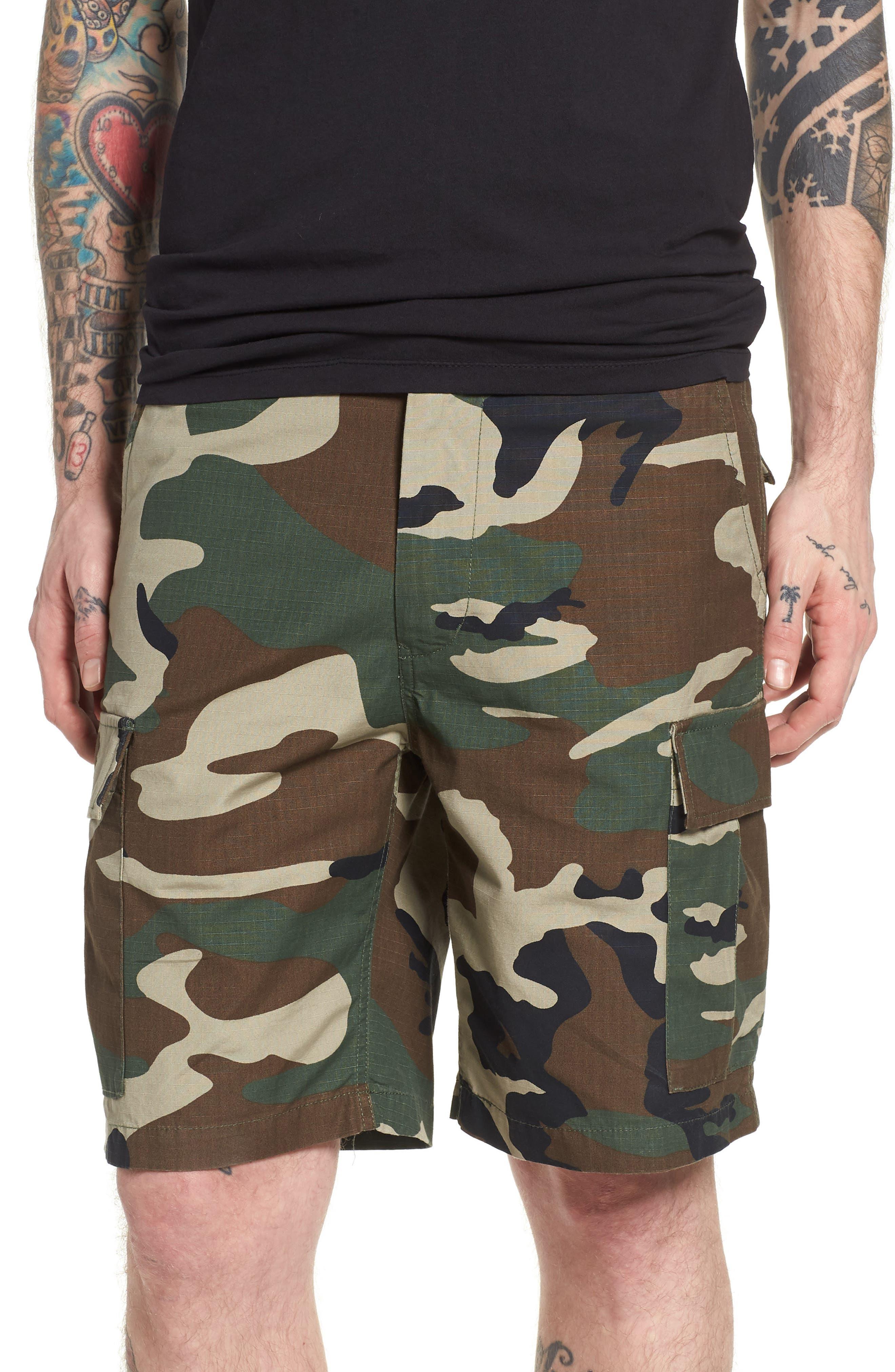 Recon II Cargo Shorts,                         Main,                         color, Field Camo