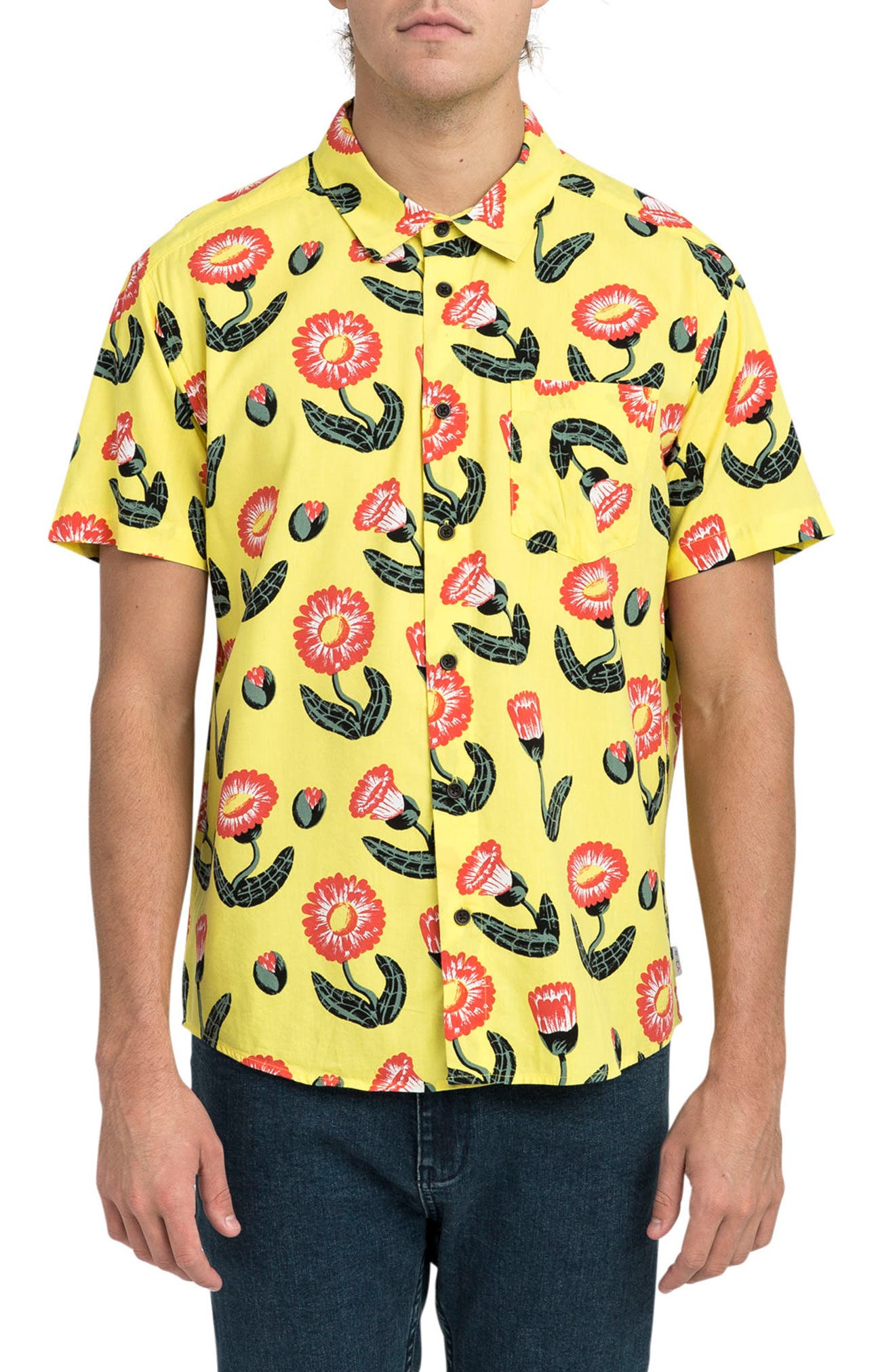 RVCA Pelletier Tropic Short Sleeve Shirt