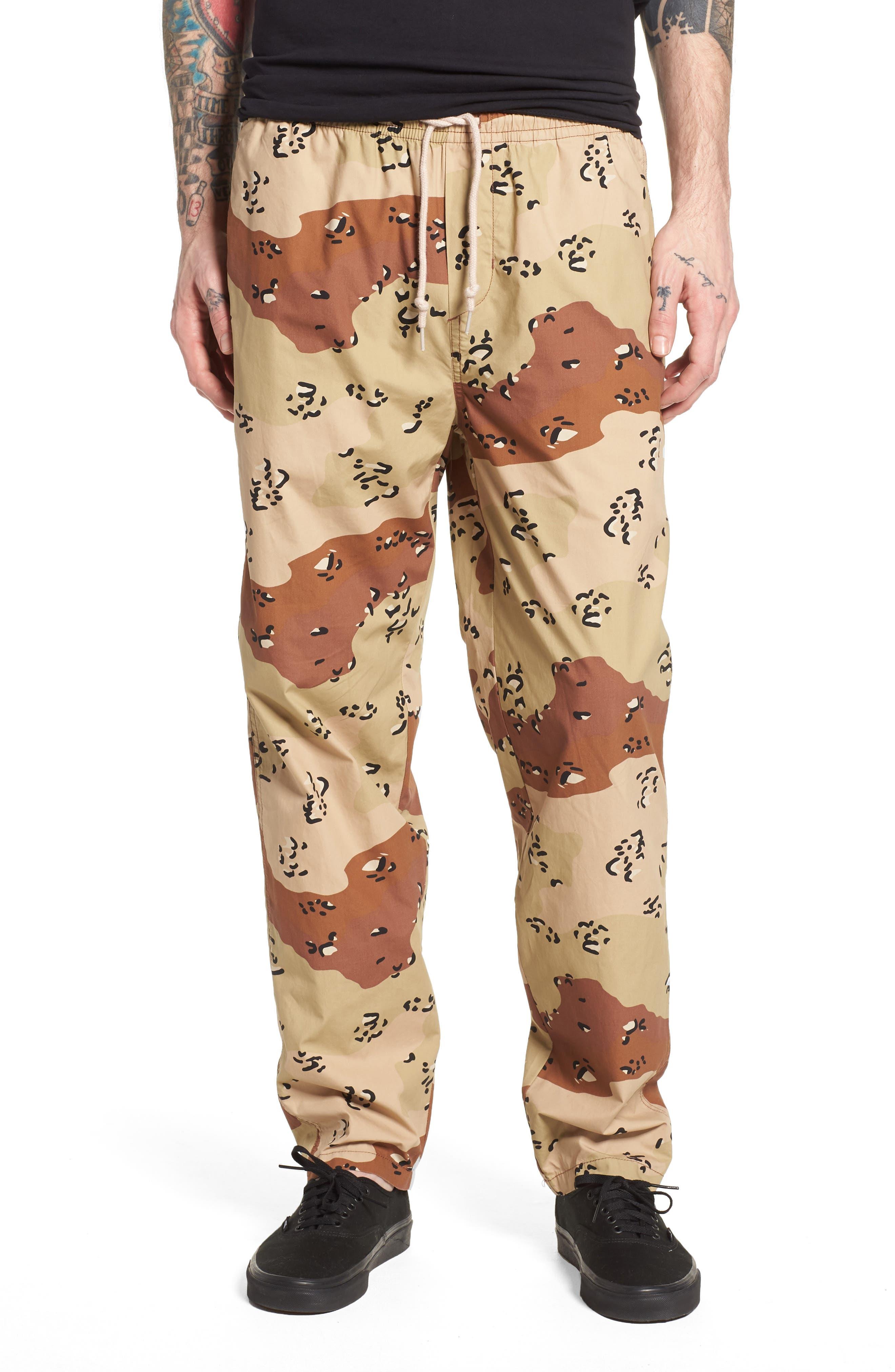 Easy Camo Pants,                         Main,                         color, Choco Chip Camo