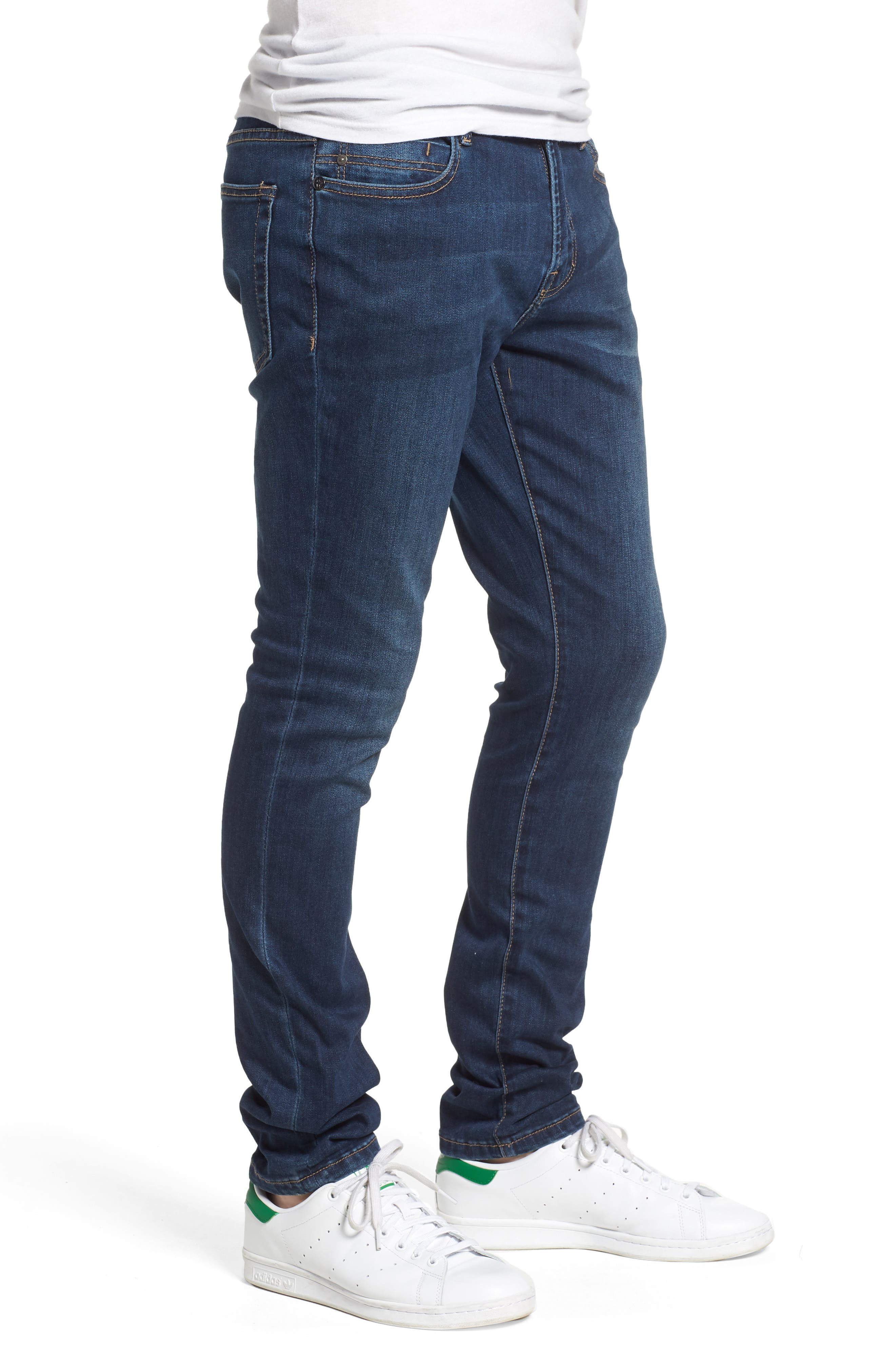 Jeans Co. Bond Skinny Fit Jeans,                             Alternate thumbnail 3, color,                             Cladwell Dark