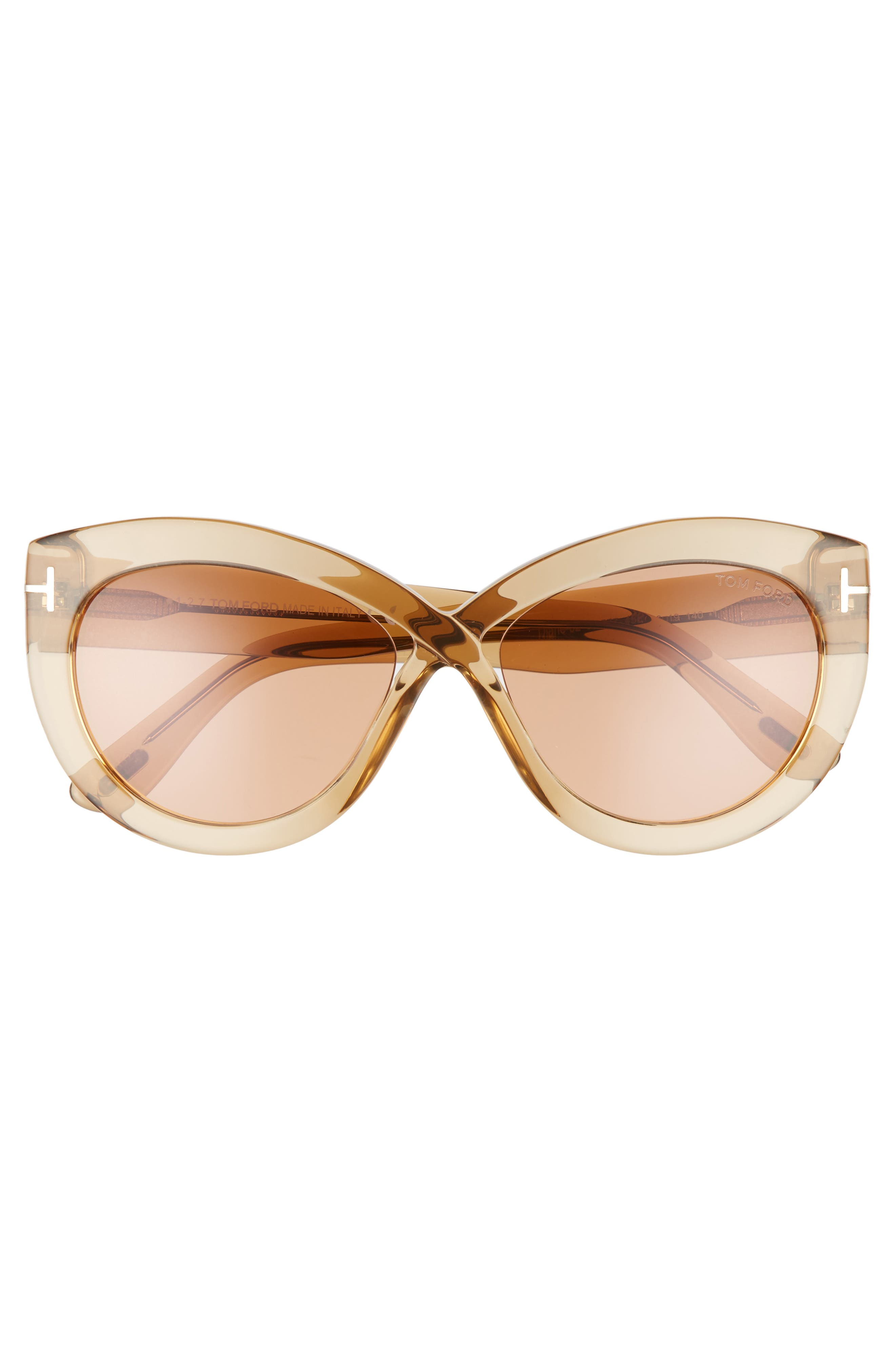 Alternate Image 3  - Tom Ford Diane 56mm Butterfly Sunglasses