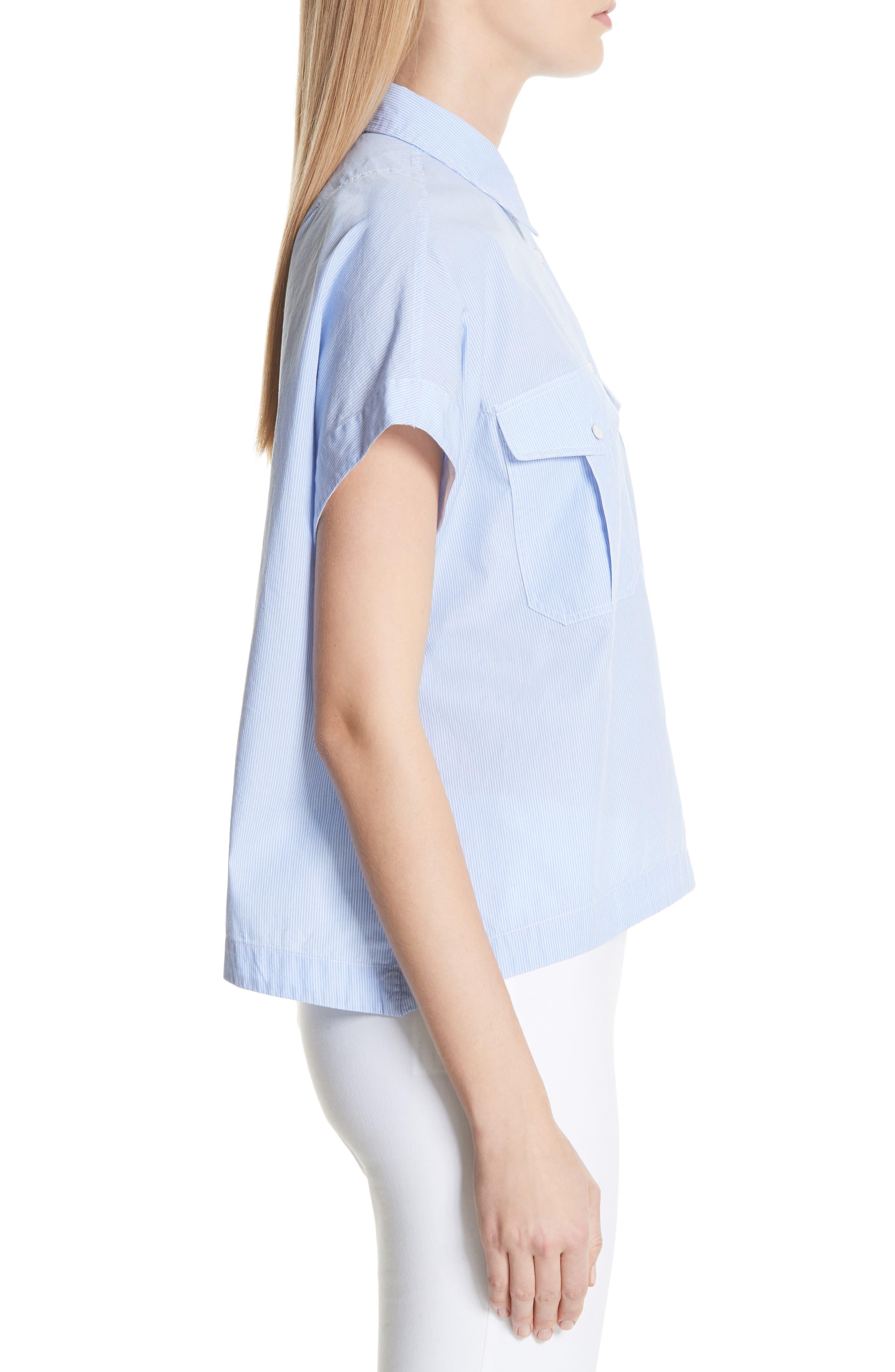 Pearson Shirt,                             Alternate thumbnail 3, color,                             Light Blue Multi