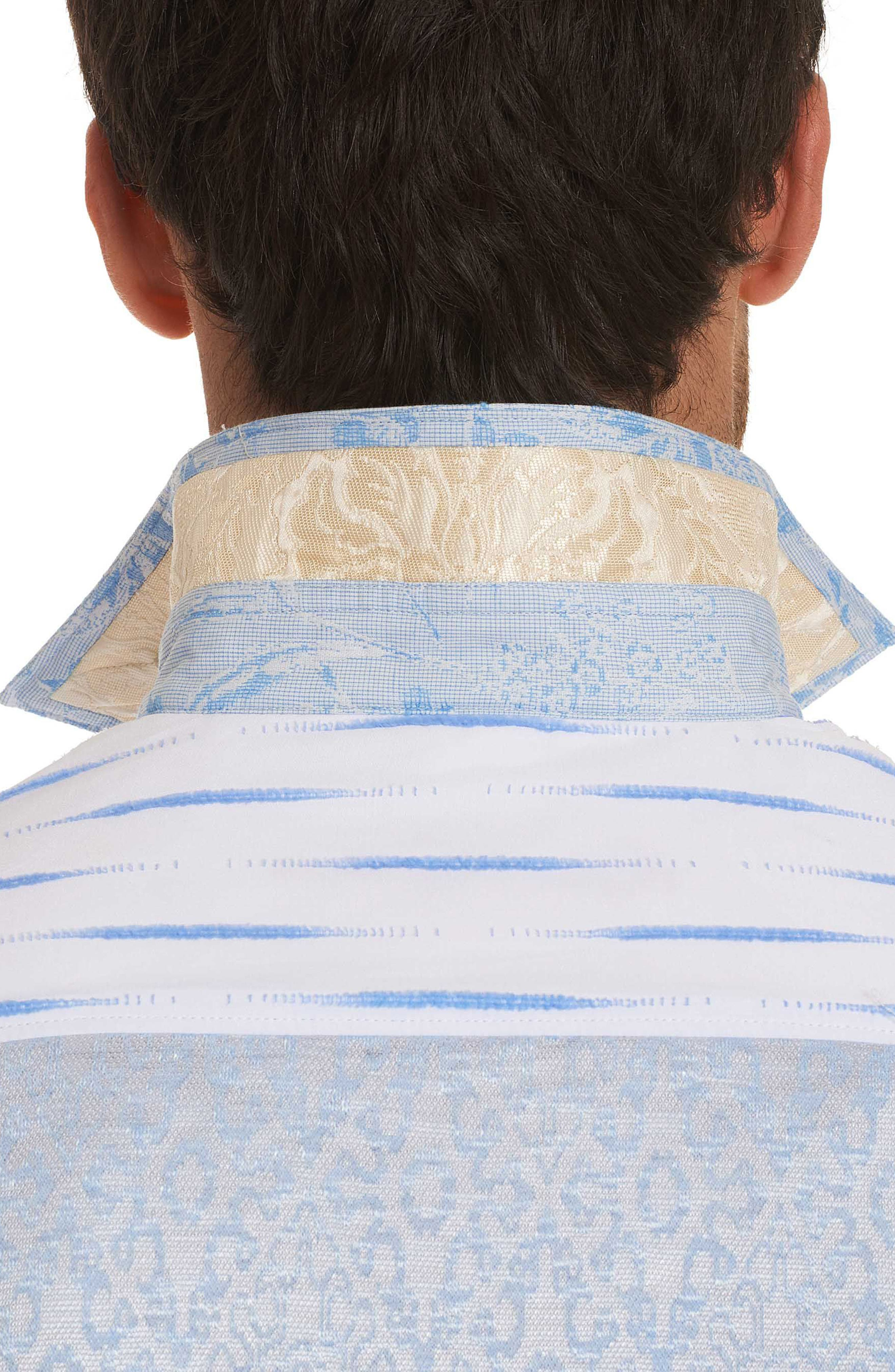 Ryan Limited Edition Classic Fit Sport Shirt,                             Alternate thumbnail 5, color,                             Blue