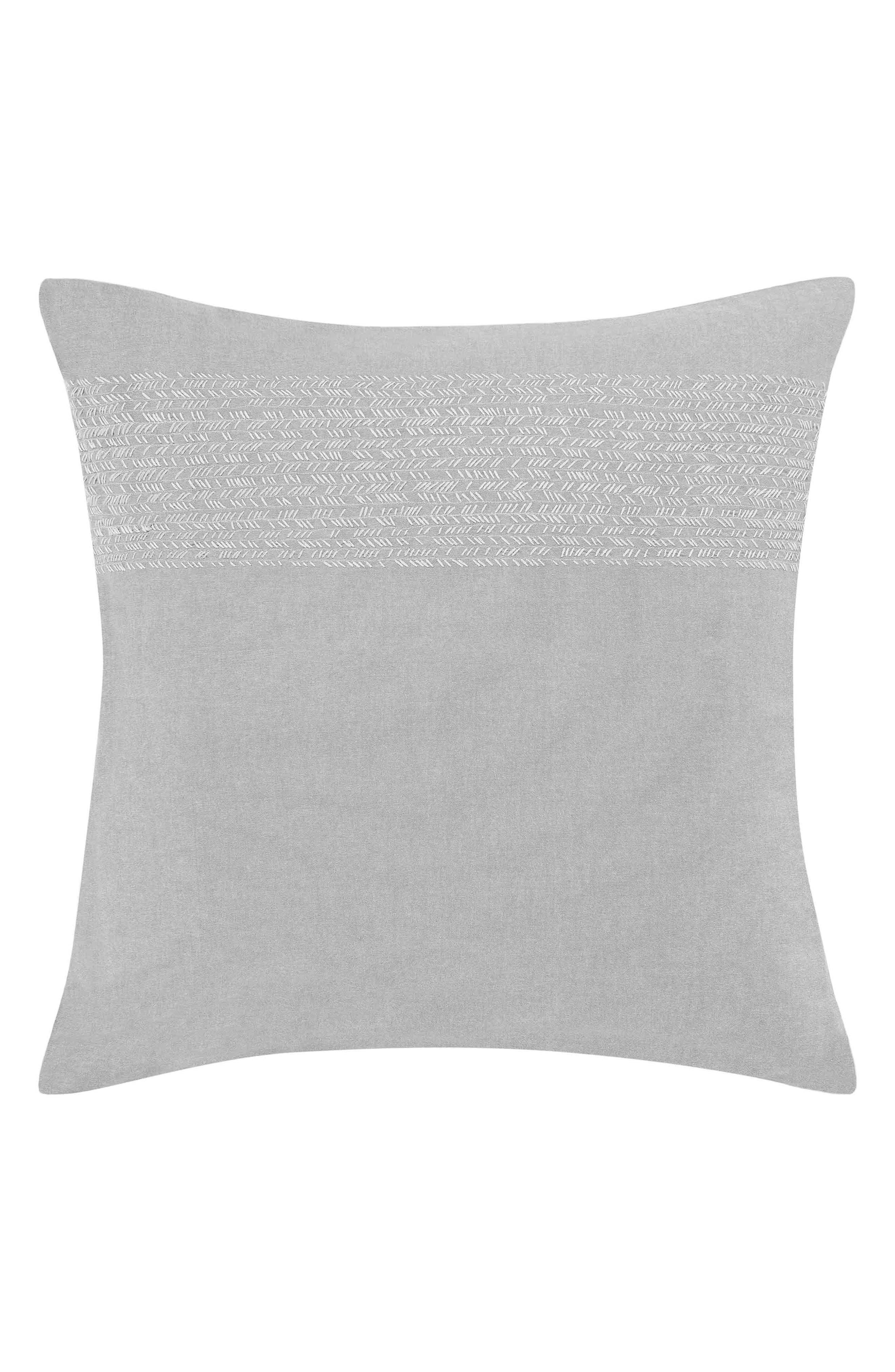 Claremont Euro Sham,                         Main,                         color, Pastel Grey