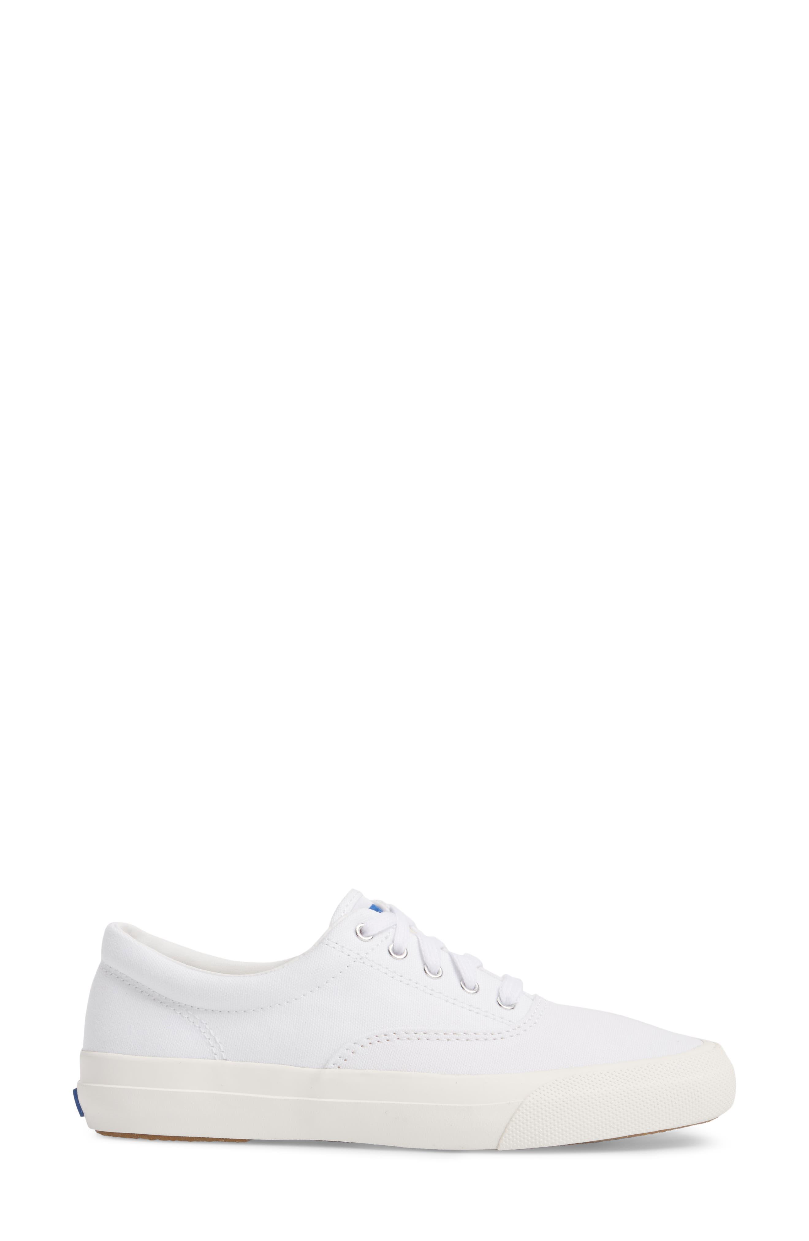 Anchor Sneaker,                             Alternate thumbnail 3, color,                             White