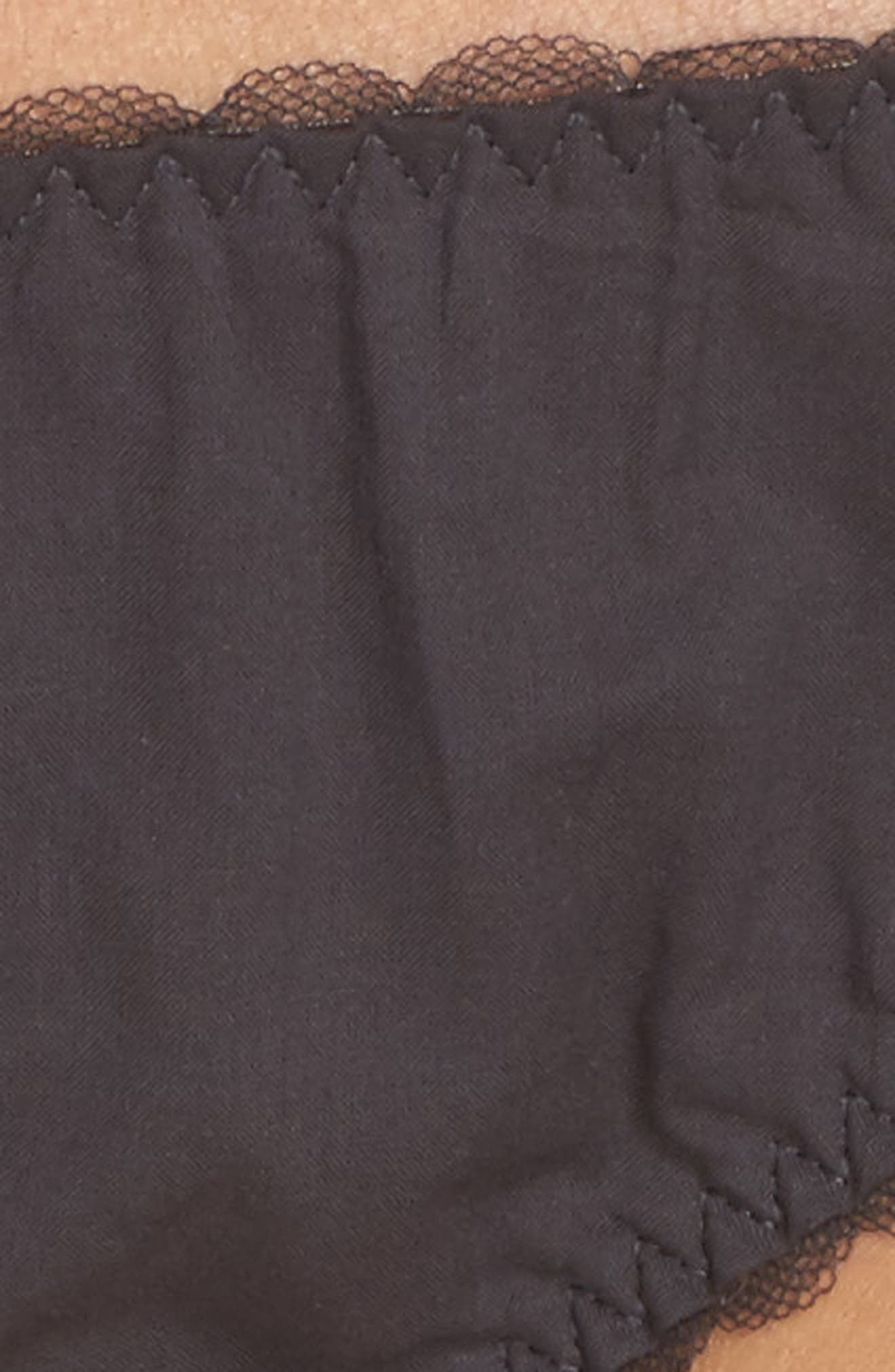 Low Rise Panties,                             Alternate thumbnail 9, color,                             Dark Charcoal