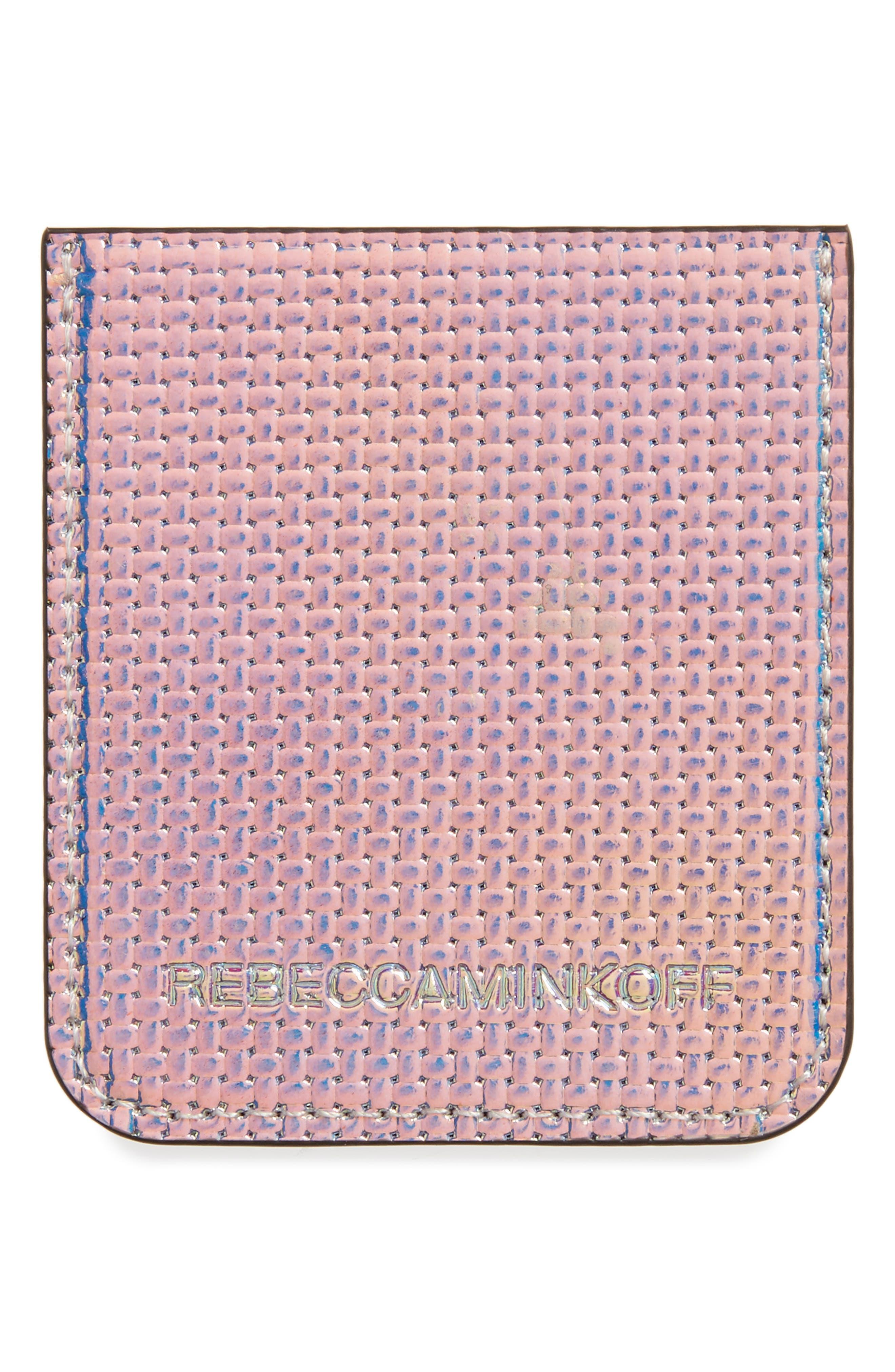 Adhesive Phone Sticker Pocket,                             Alternate thumbnail 2, color,                             Holographic