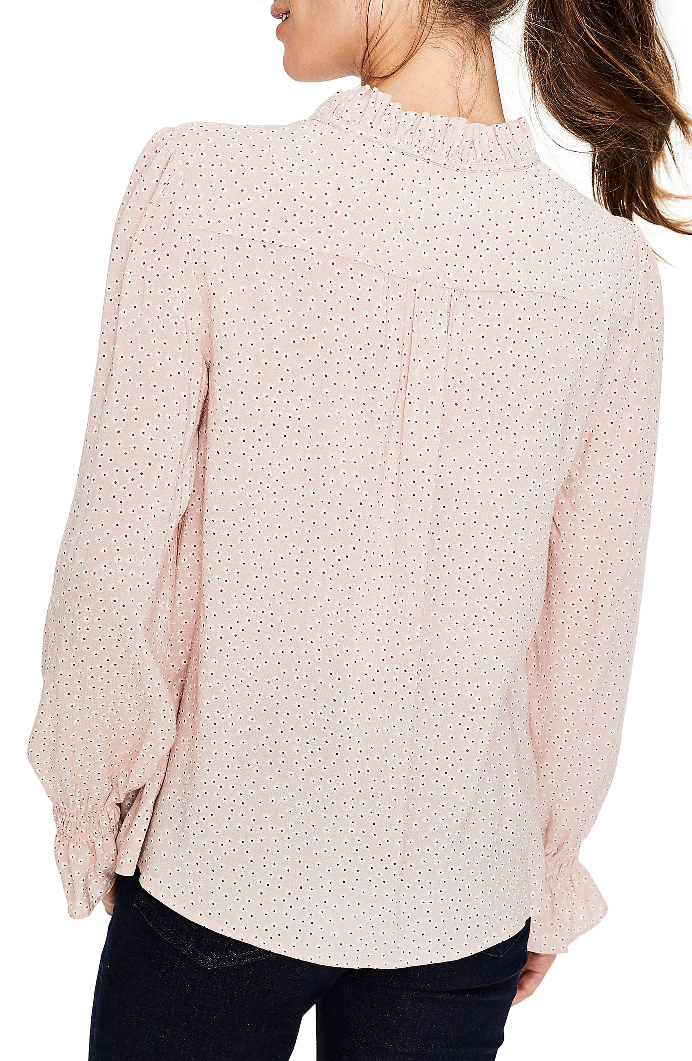 Hotch Potch Ruffled Top,                             Alternate thumbnail 2, color,                             Pink Pearl/ Daisy Sm