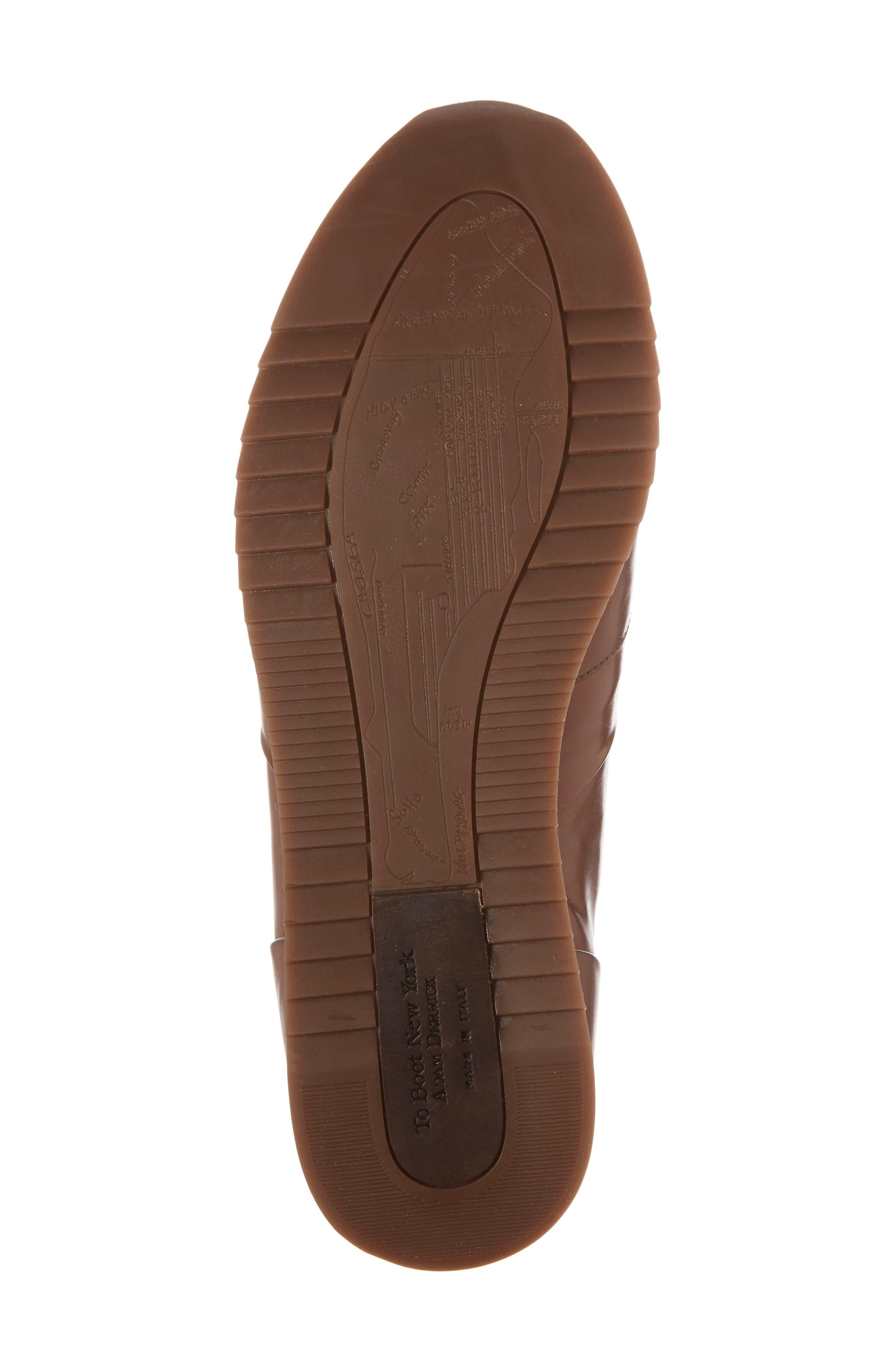 Lenox Low Top Sneaker,                             Alternate thumbnail 6, color,                             Tan Leather