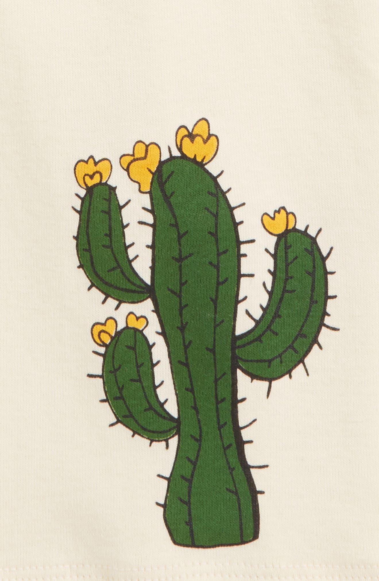 Cactus Organic Cotton Tank,                             Alternate thumbnail 2, color,                             Off White