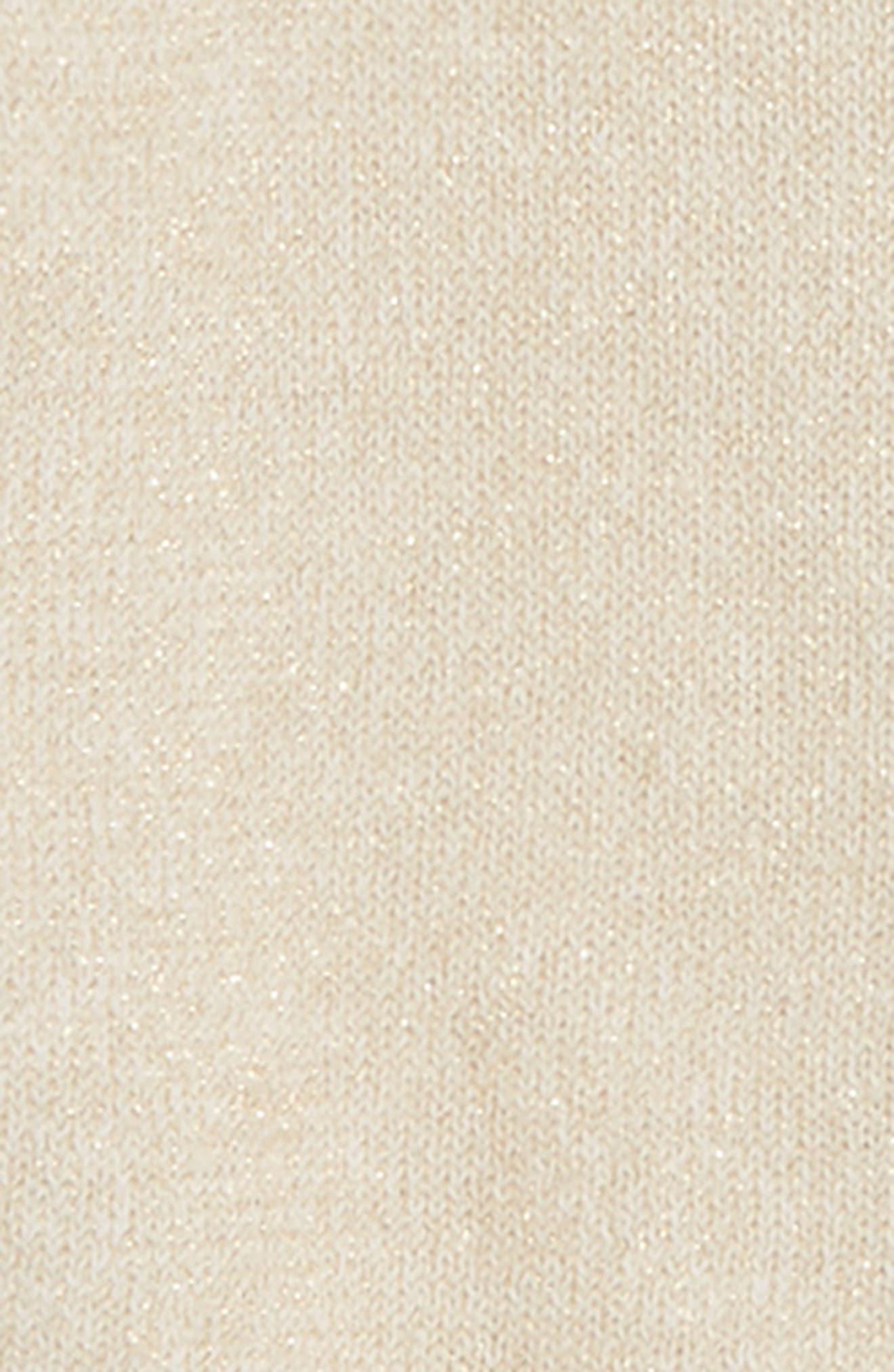 Shimmer Cardigan,                             Alternate thumbnail 2, color,                             Gold Sparkle