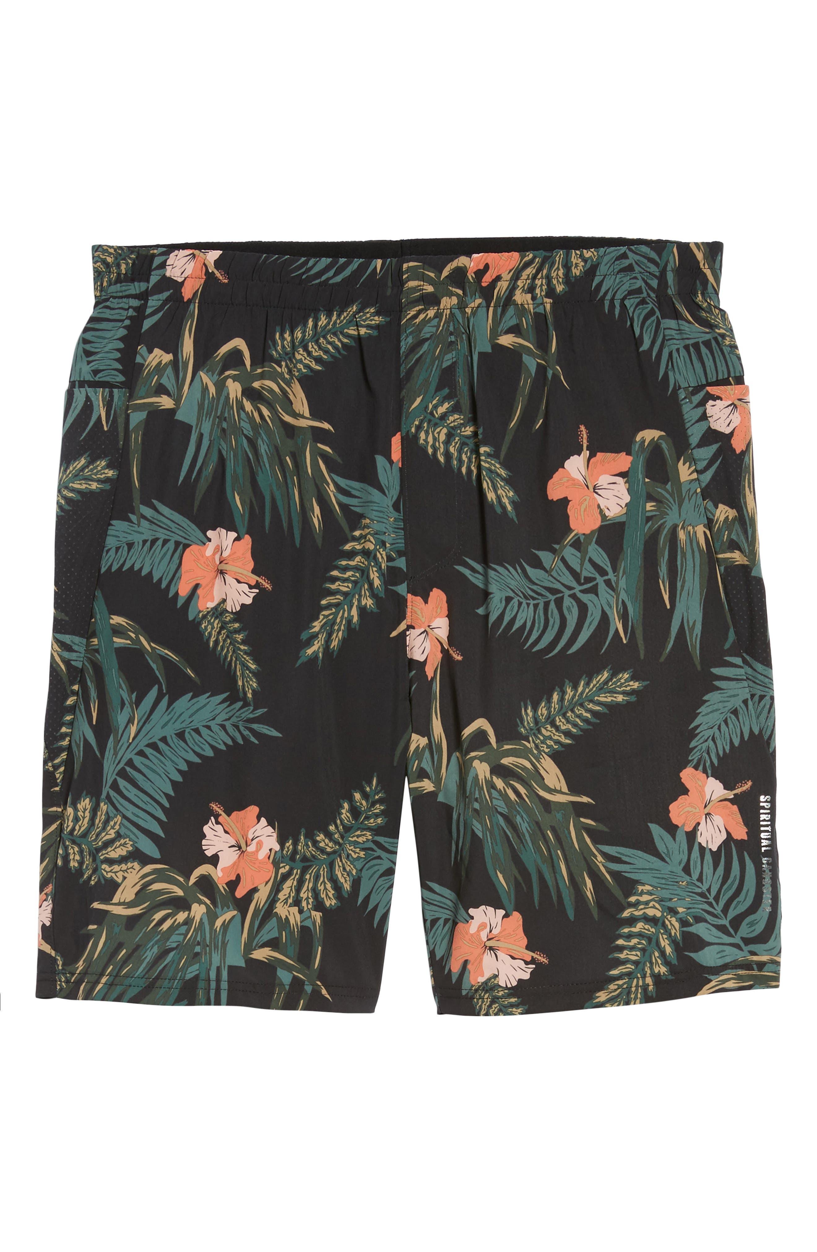 Ignite Shorts,                             Alternate thumbnail 6, color,                             Floral/ Multi