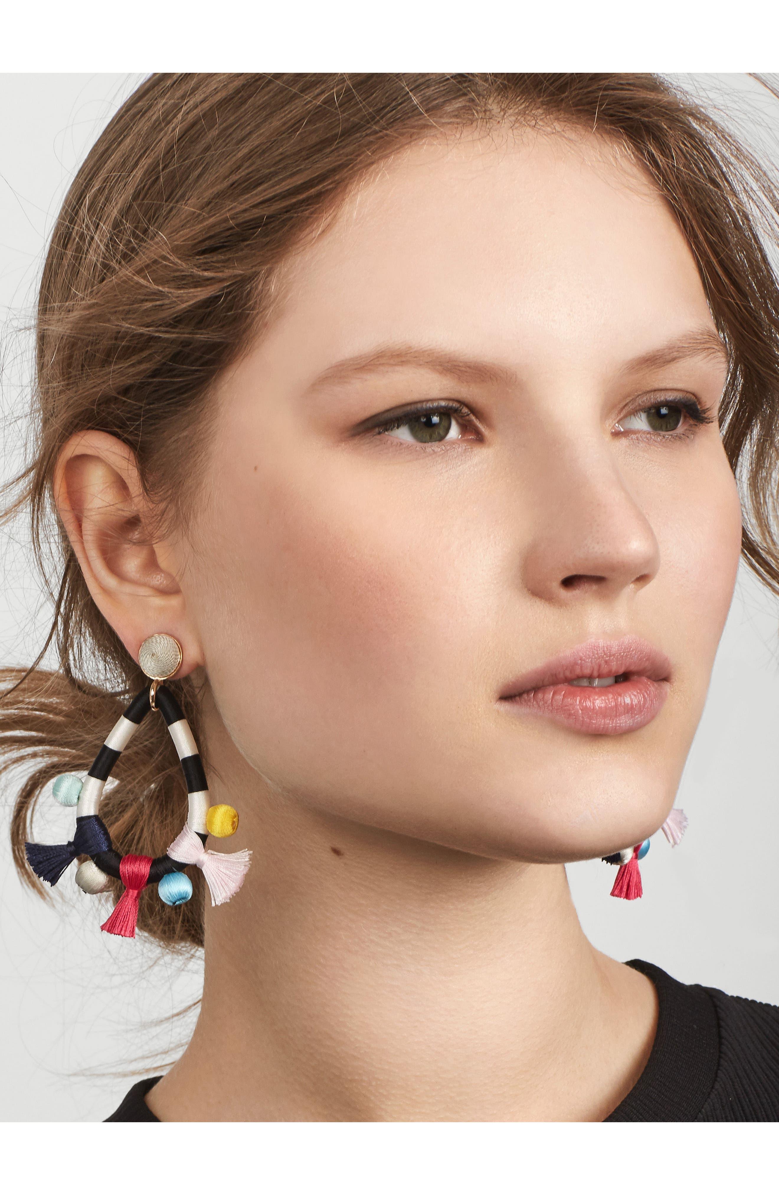 Sardinia Drop Earrings,                             Alternate thumbnail 2, color,                             Multi