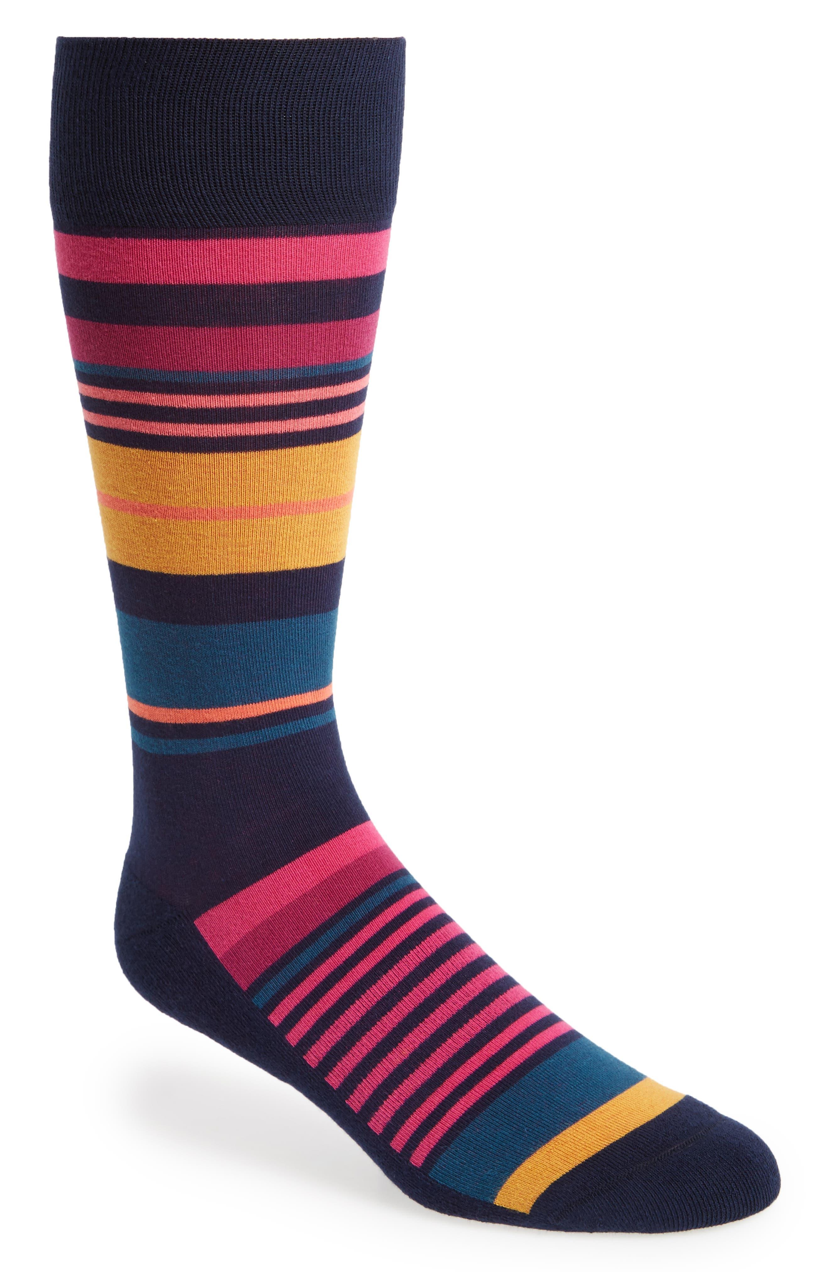 Nordstrom Men's Shop Multi Stripe Socks (3 for $30)