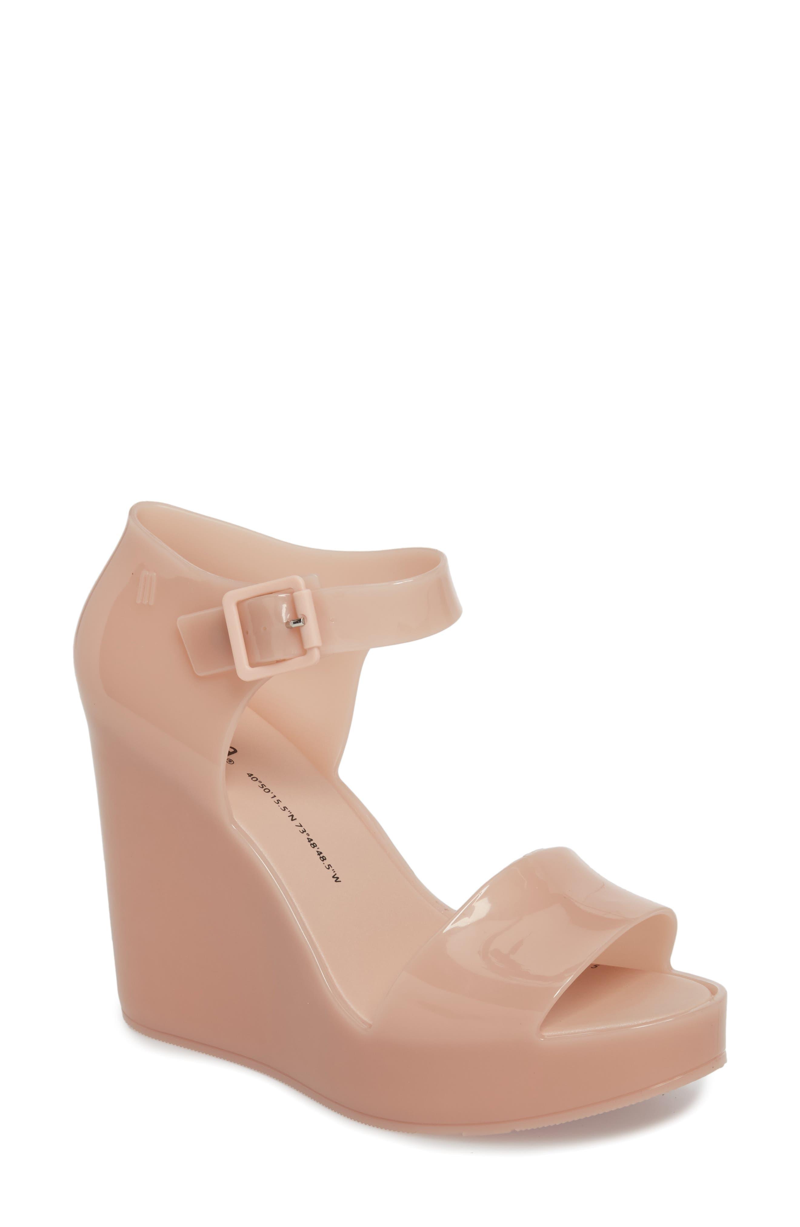 Alternate Image 1 Selected - Melissa Mar Platform Wedge Sandal