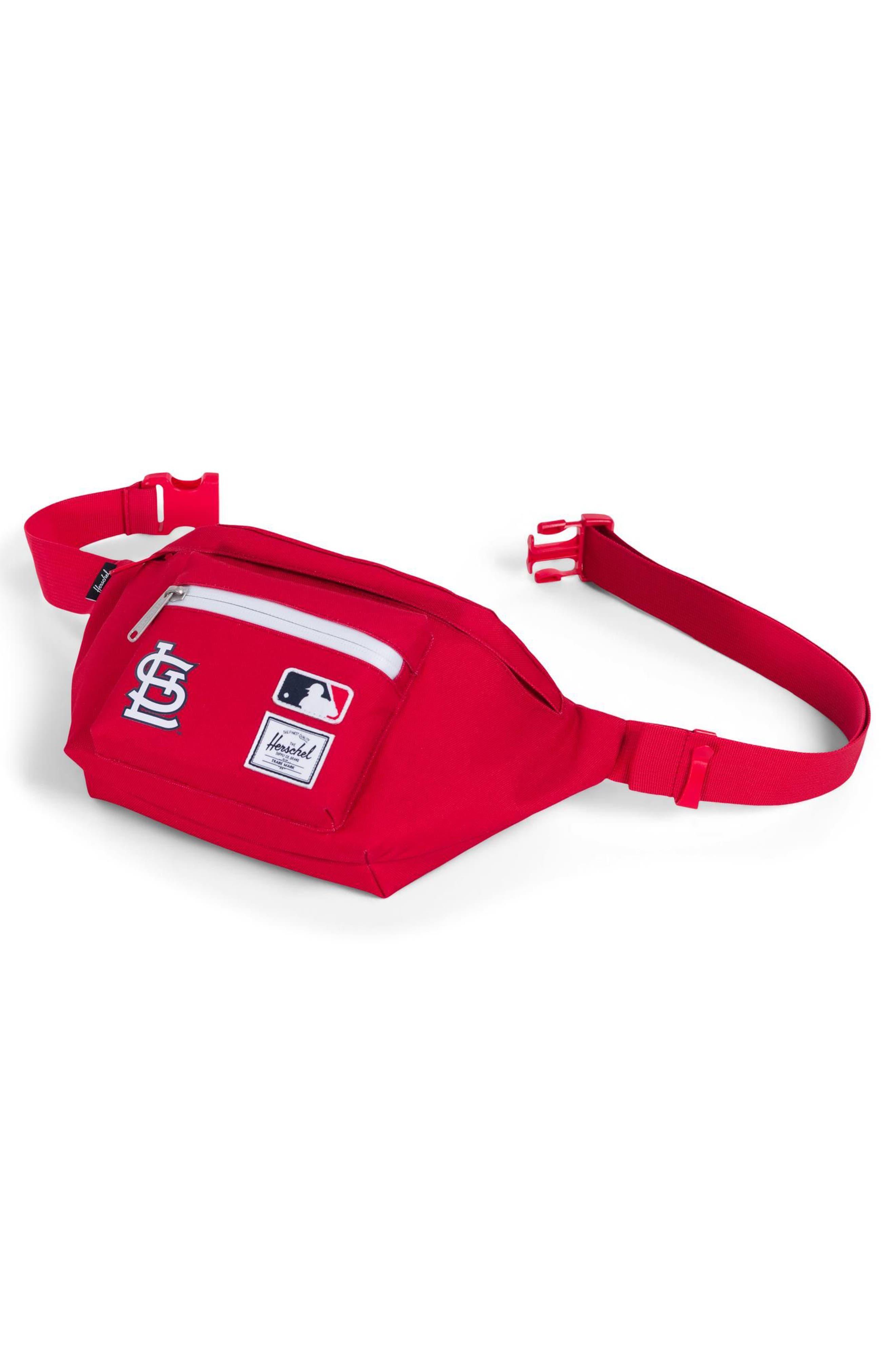 MLB National League Hip Pack,                             Alternate thumbnail 3, color,                             St Louis Cardinals