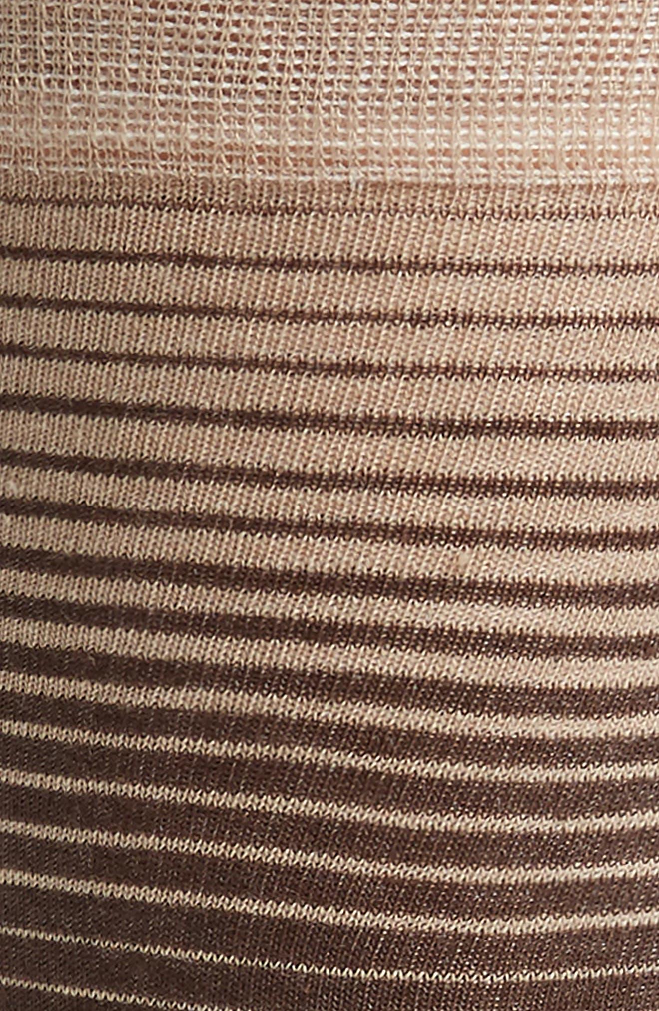 Stripe & Dot Socks,                             Alternate thumbnail 2, color,                             Dune