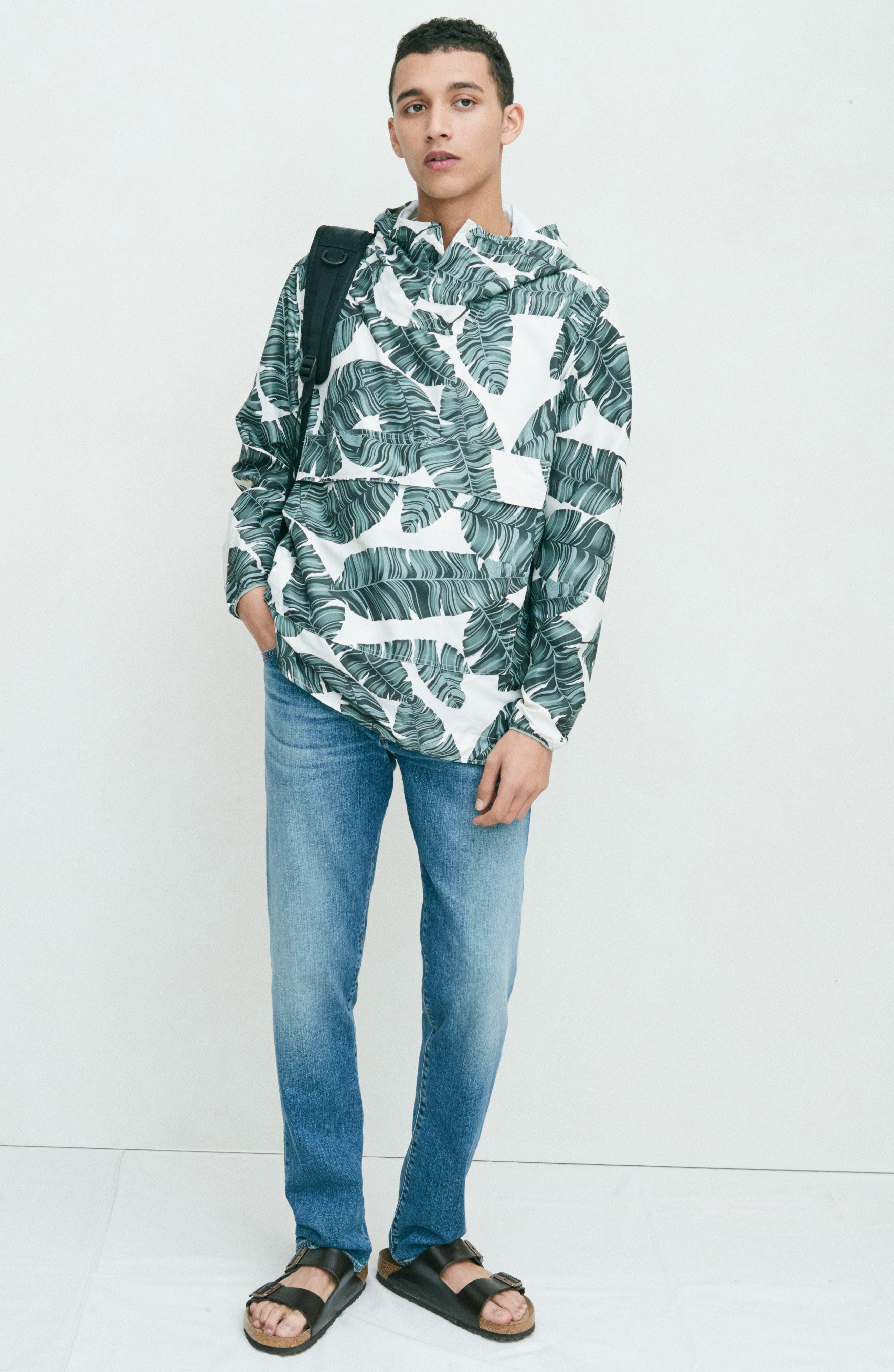 Alternate Image 8  - AG Ives Straight Fit Jeans (Grasslands)