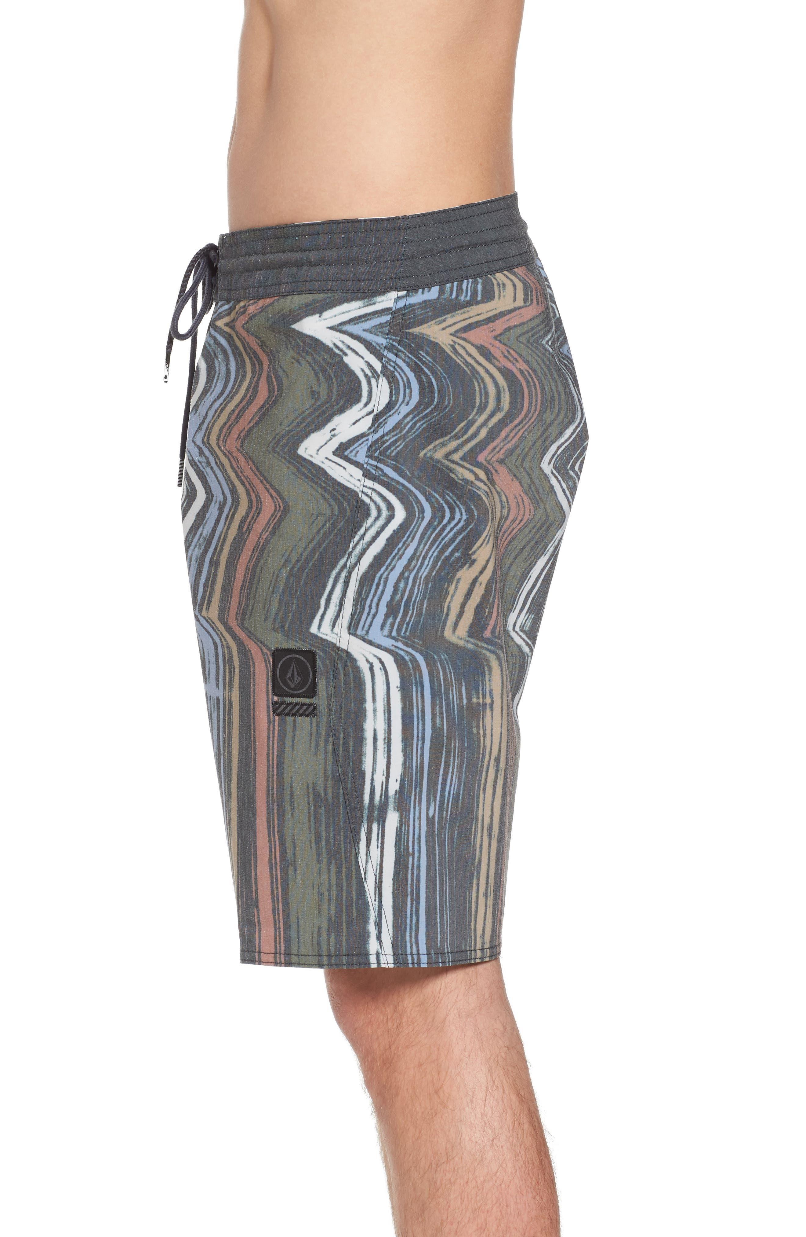 Lo-Fi Stoney Board Shorts,                             Alternate thumbnail 3, color,                             Stealth