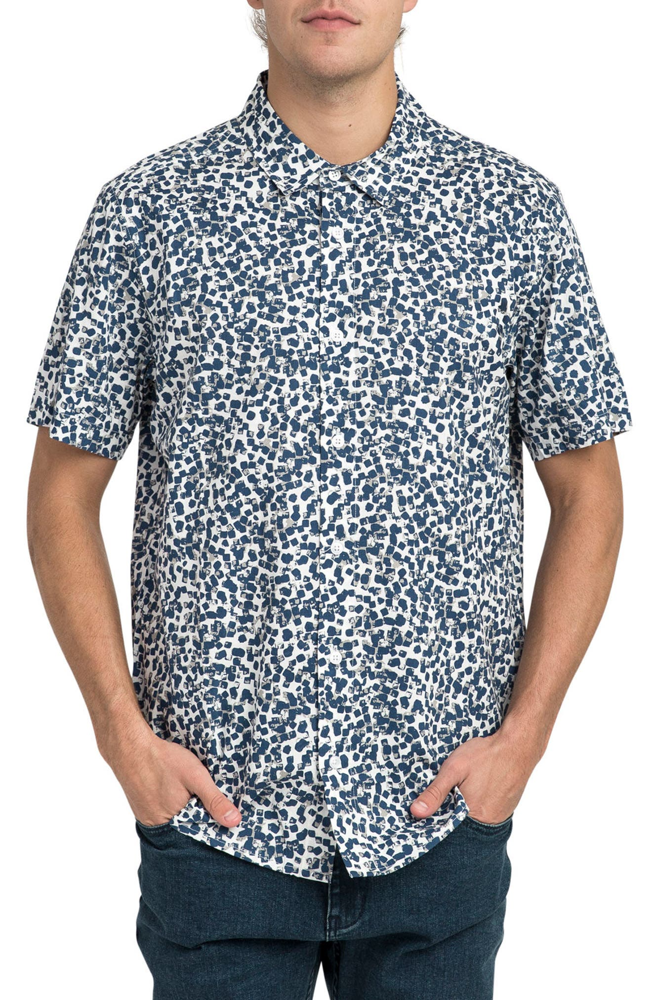 RVCA Barrow Short Sleeve Woven Shirt