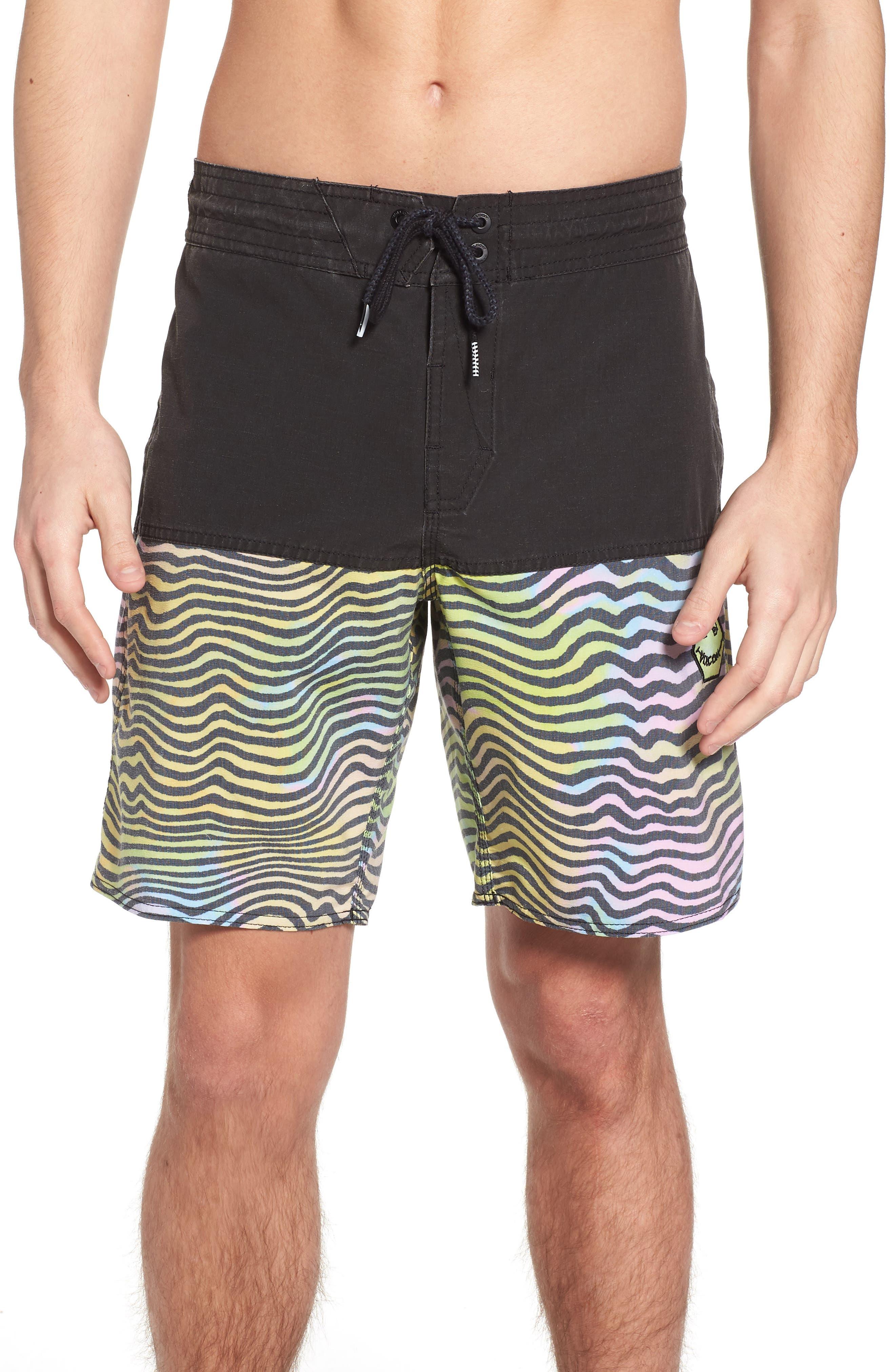 Vibes Half Stoney Board Shorts,                         Main,                         color, Multi