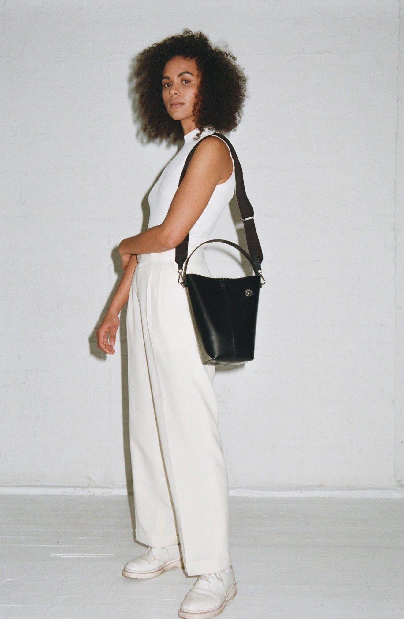 Pinch Pail Bucket Bag,                             Alternate thumbnail 2, color,                             Void Black