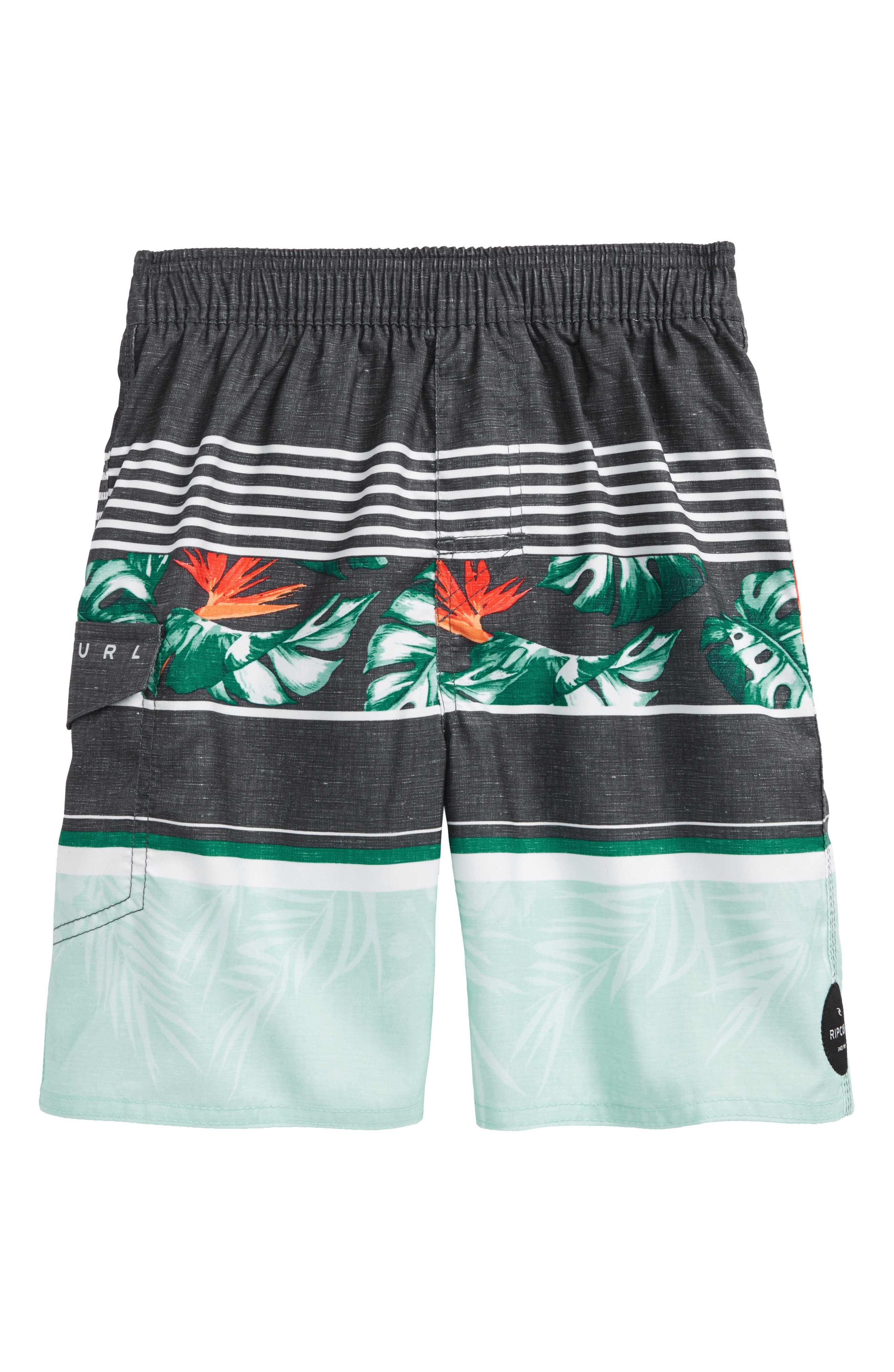 Sessions Volley Shorts,                         Main,                         color, Teal
