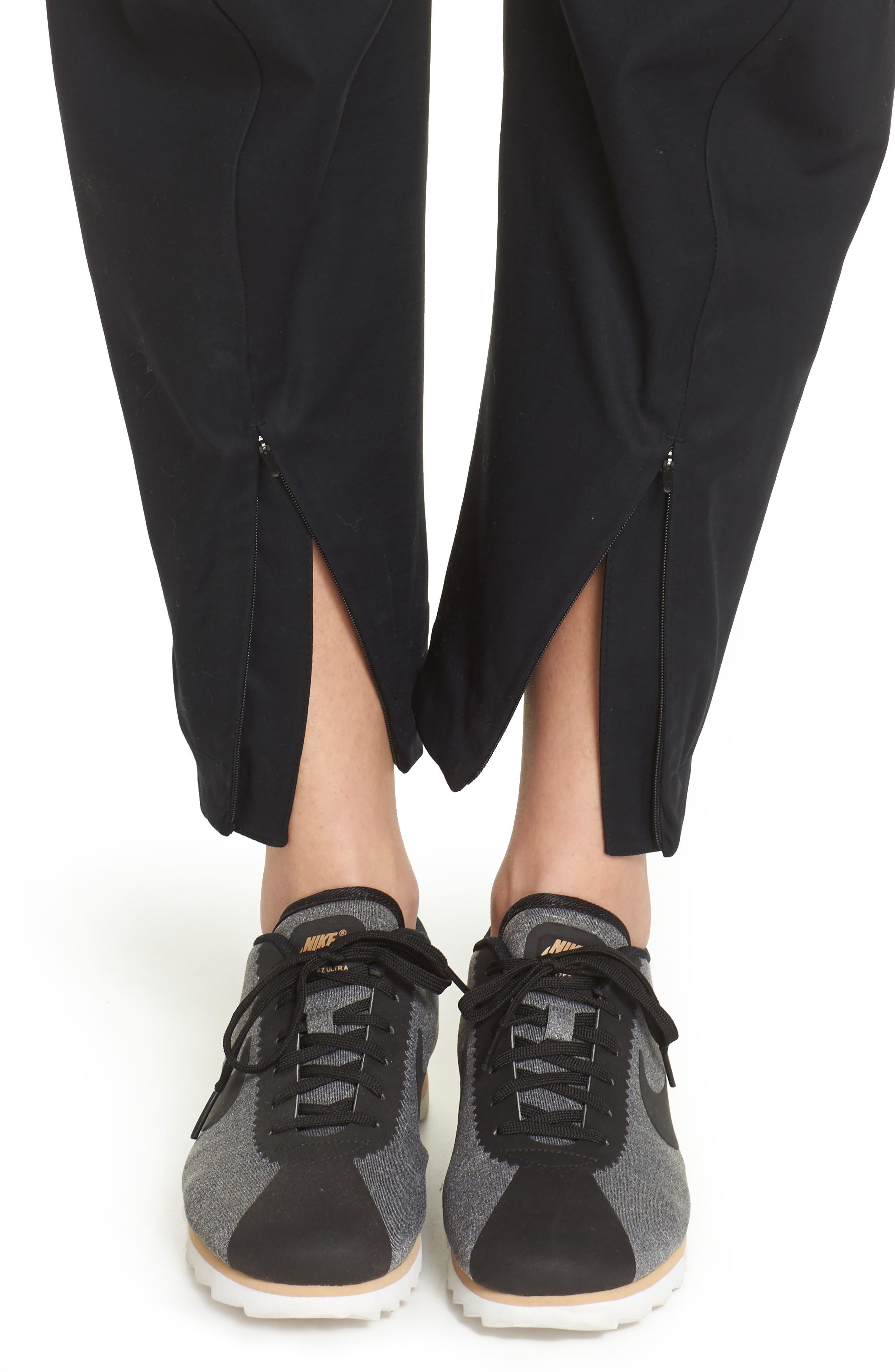 NikeLab ACG Tech Woven Pants,                             Alternate thumbnail 4, color,                             Black