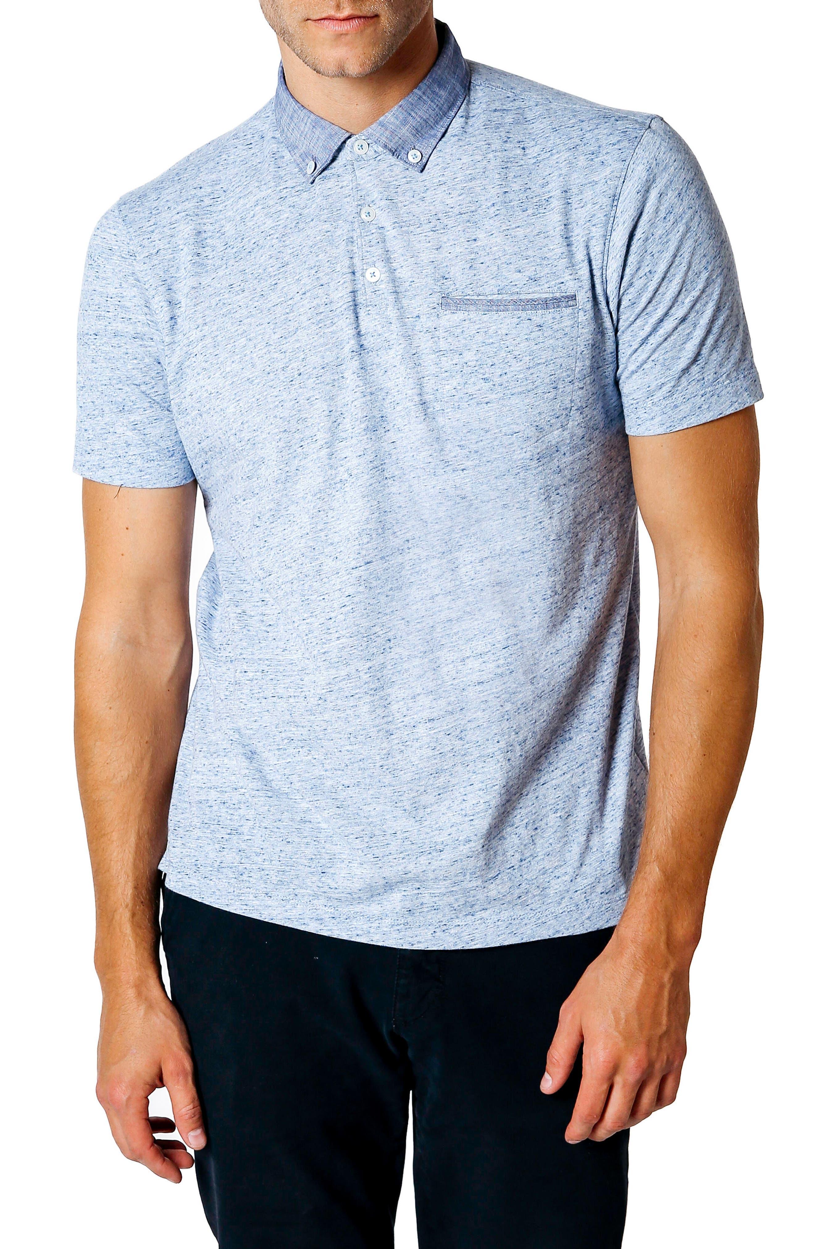 Good Man Brand Trim Fit Polo Shirt