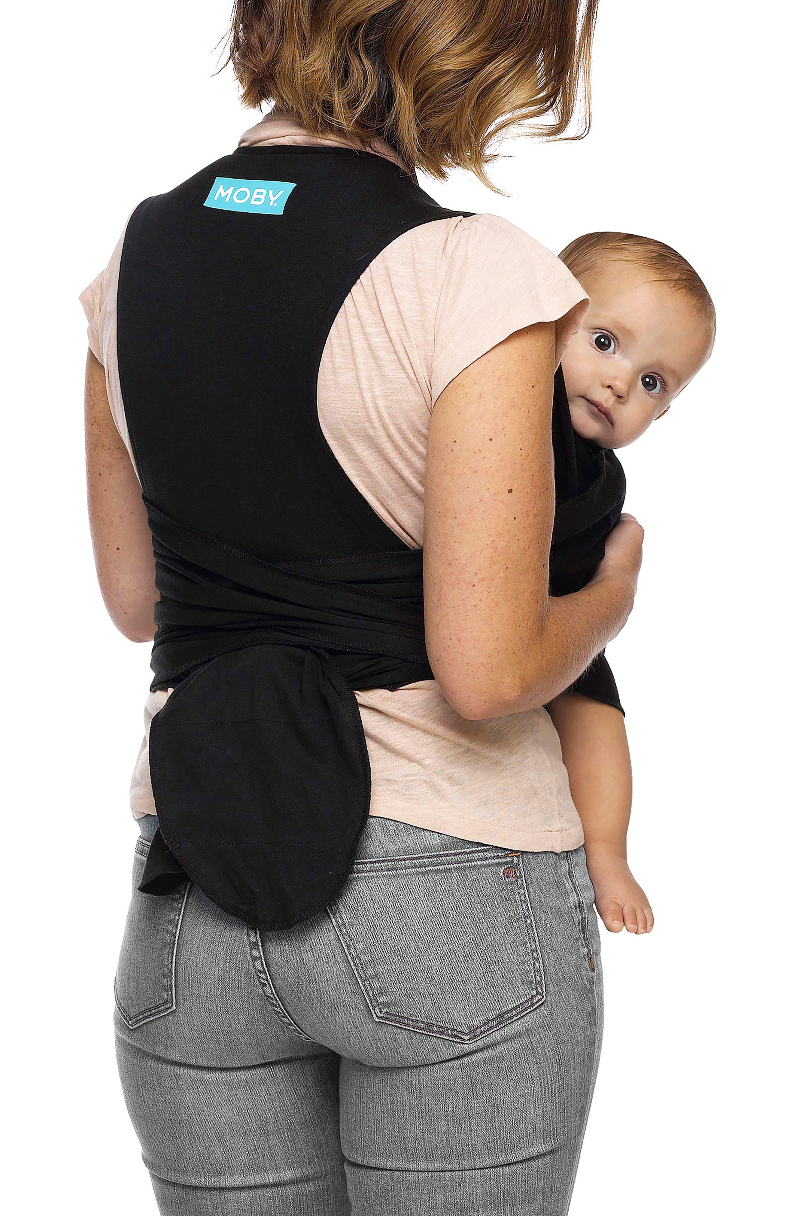 Wrap Fit Hybrid Baby Carrier,                             Alternate thumbnail 2, color,                             Black