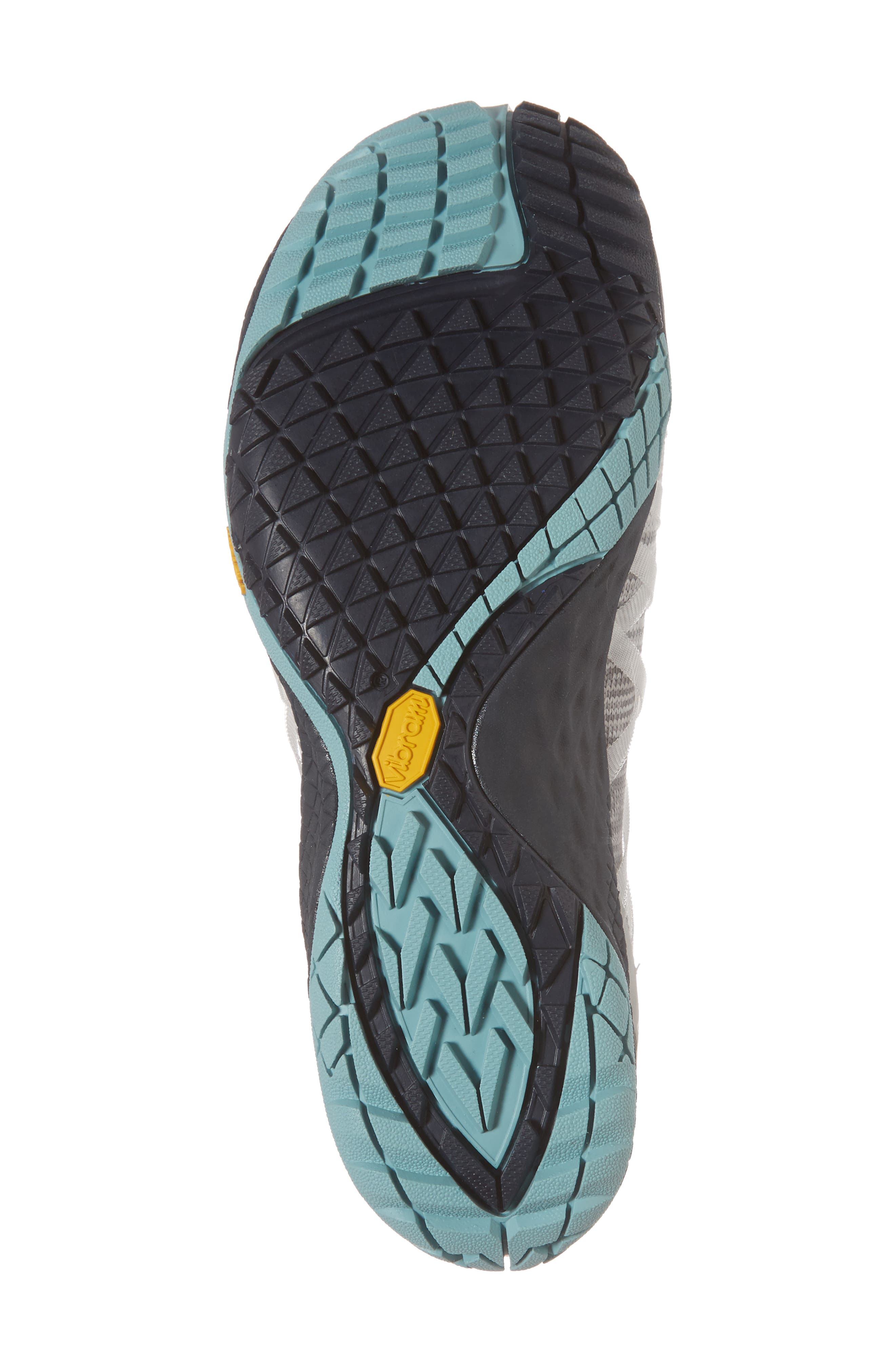 Trail Glove 4 Knit Running Shoe,                             Alternate thumbnail 6, color,                             Vapor