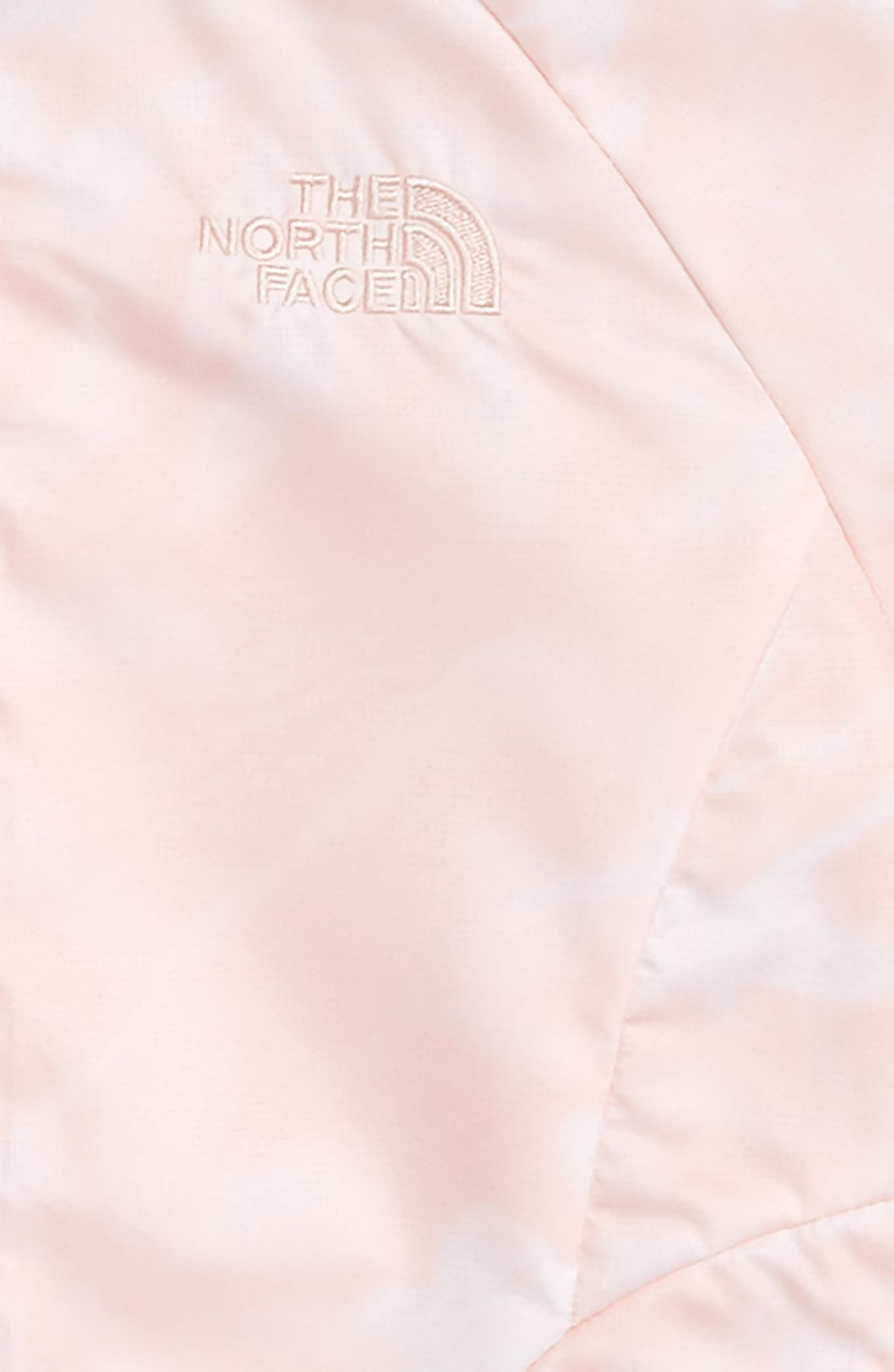 Flurry Windproof Bomber Jacket,                             Alternate thumbnail 2, color,                             Evening Sand Pink Lupine Print
