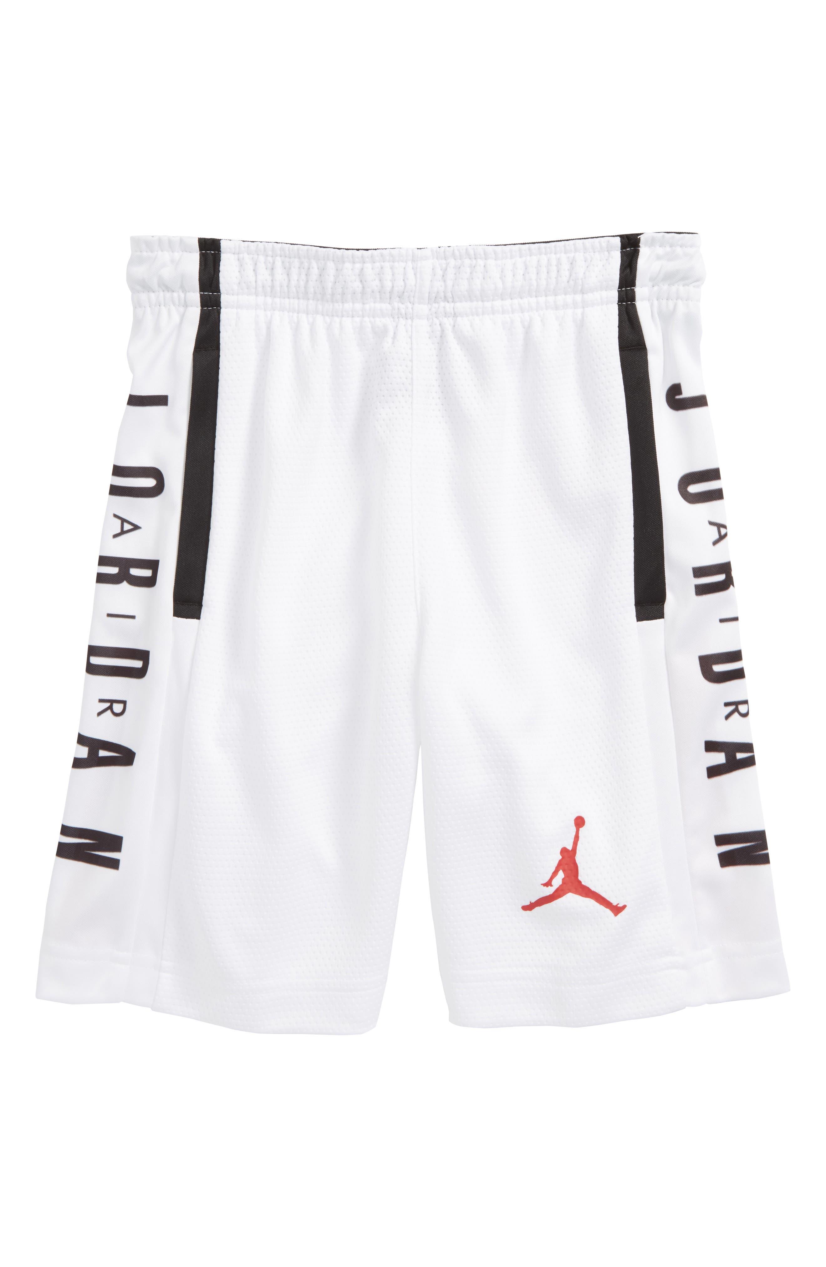 Jordan Rise Graphic Shorts,                         Main,                         color, White