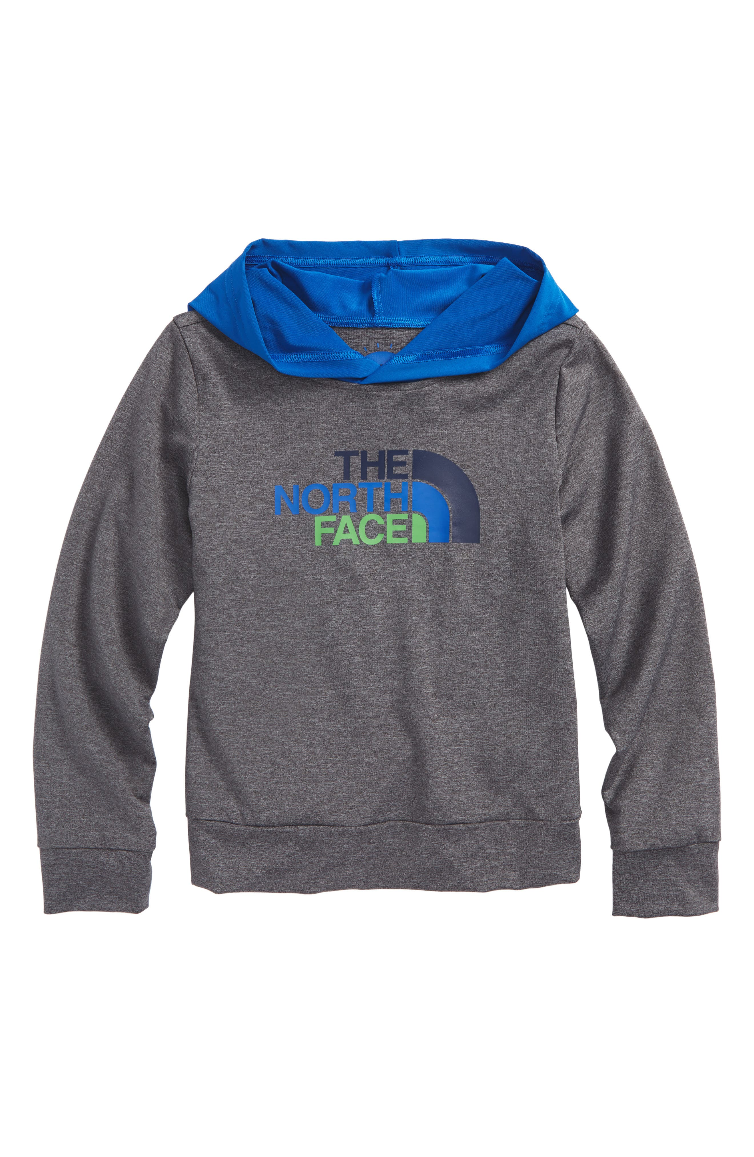 Hooded Hike/Water T-Shirt,                         Main,                         color, Medium Grey Heather