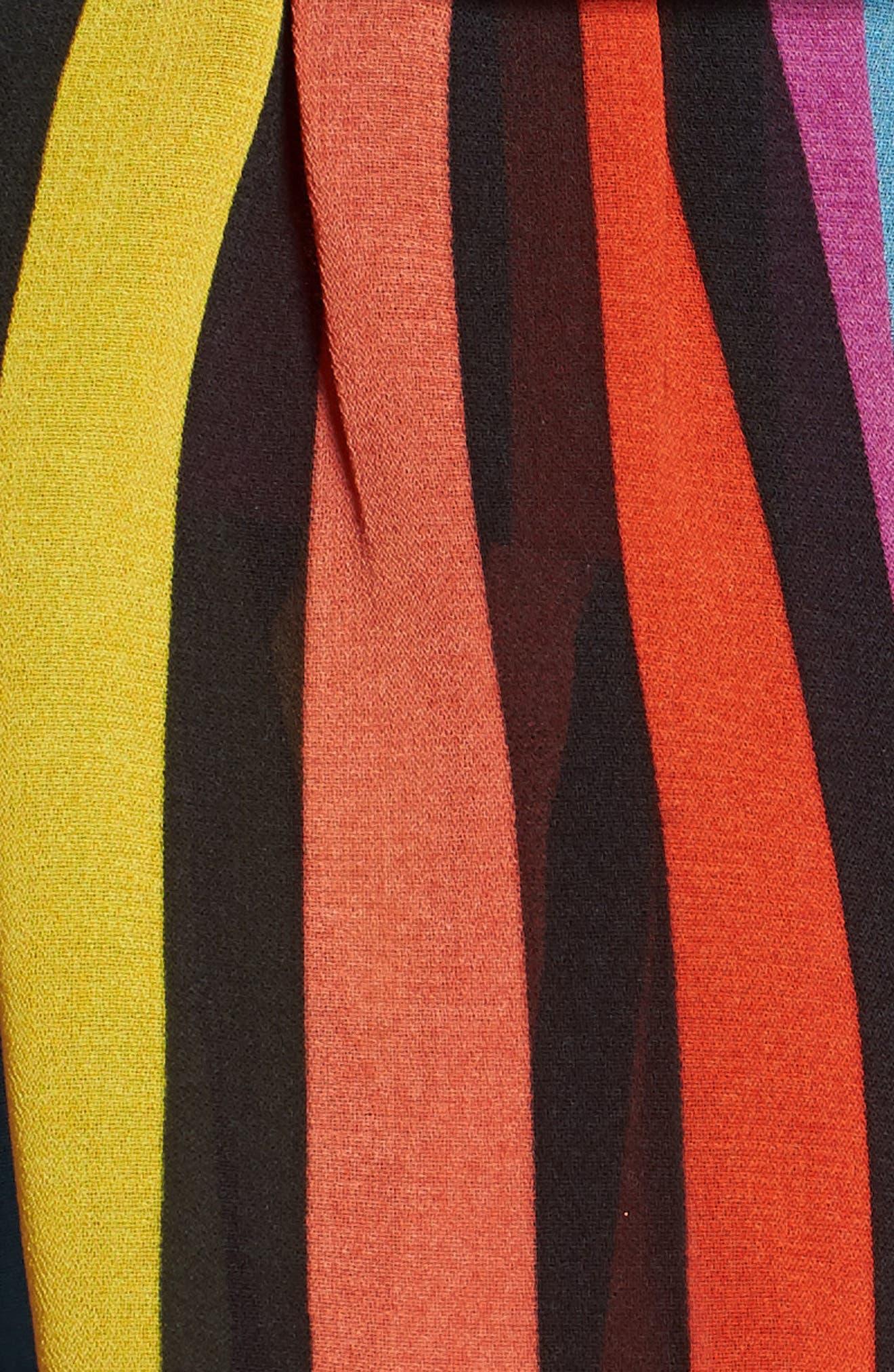 Toulon Tiered Ruffle Top,                             Alternate thumbnail 6, color,                             Rainbow Stripe