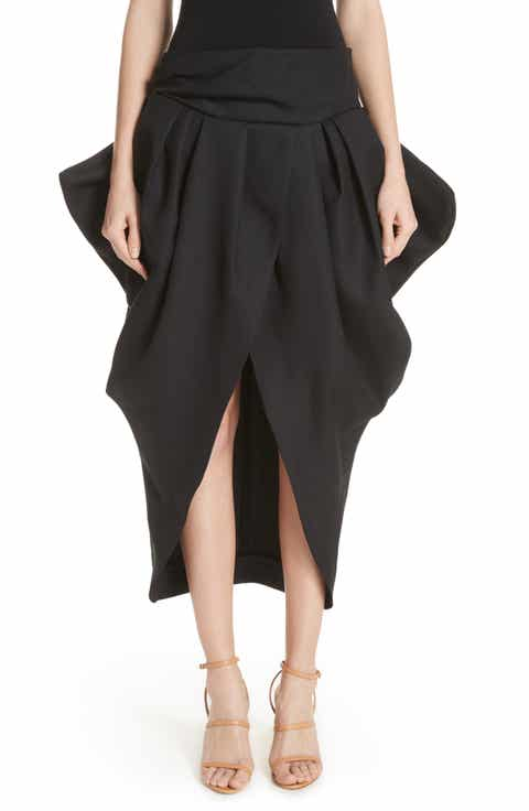 Jacquemus La Jupe Ilha Wool Midi Skirt