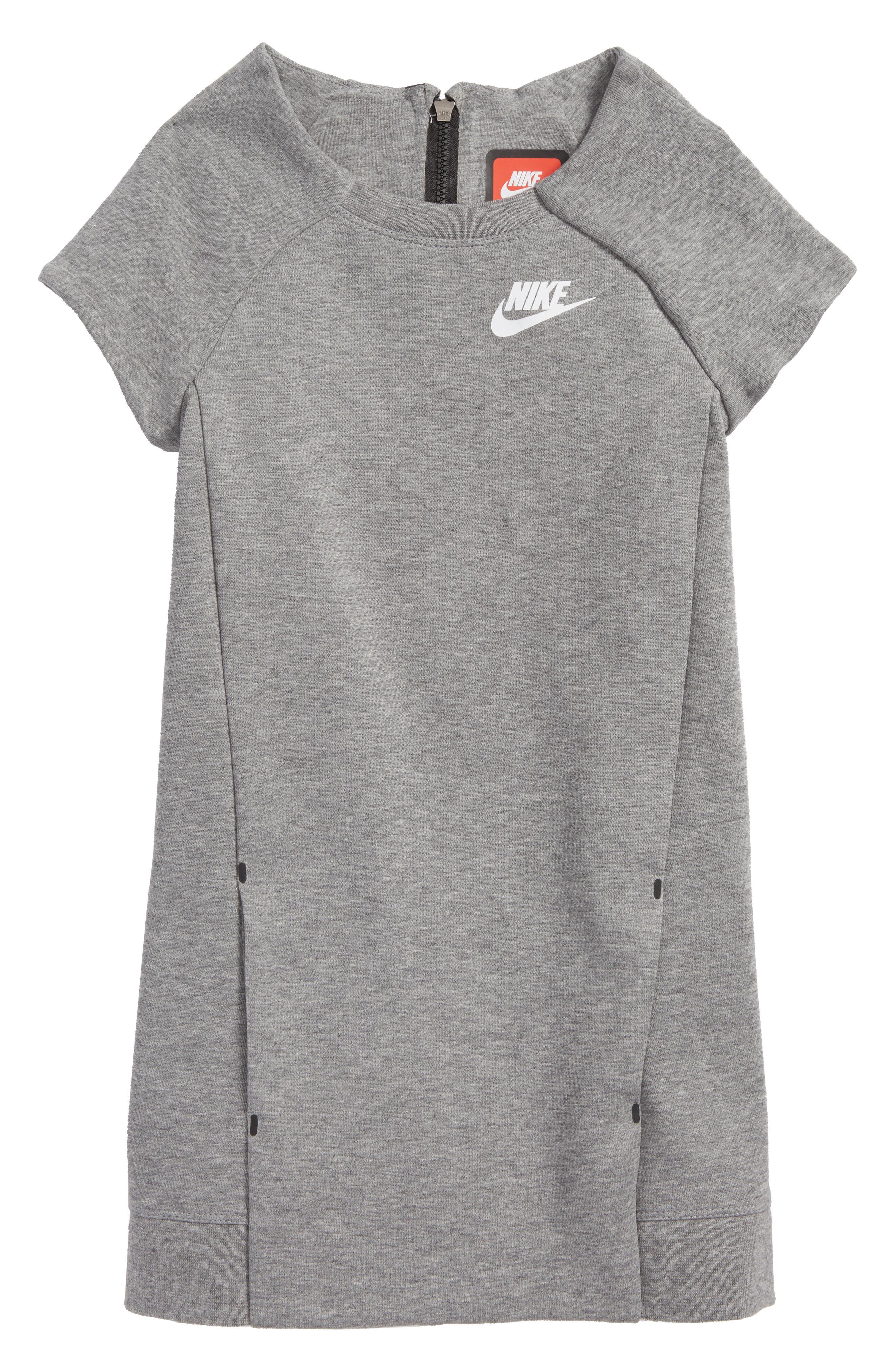 Main Image - Nike Tech Fleece Dress (Little Girls)