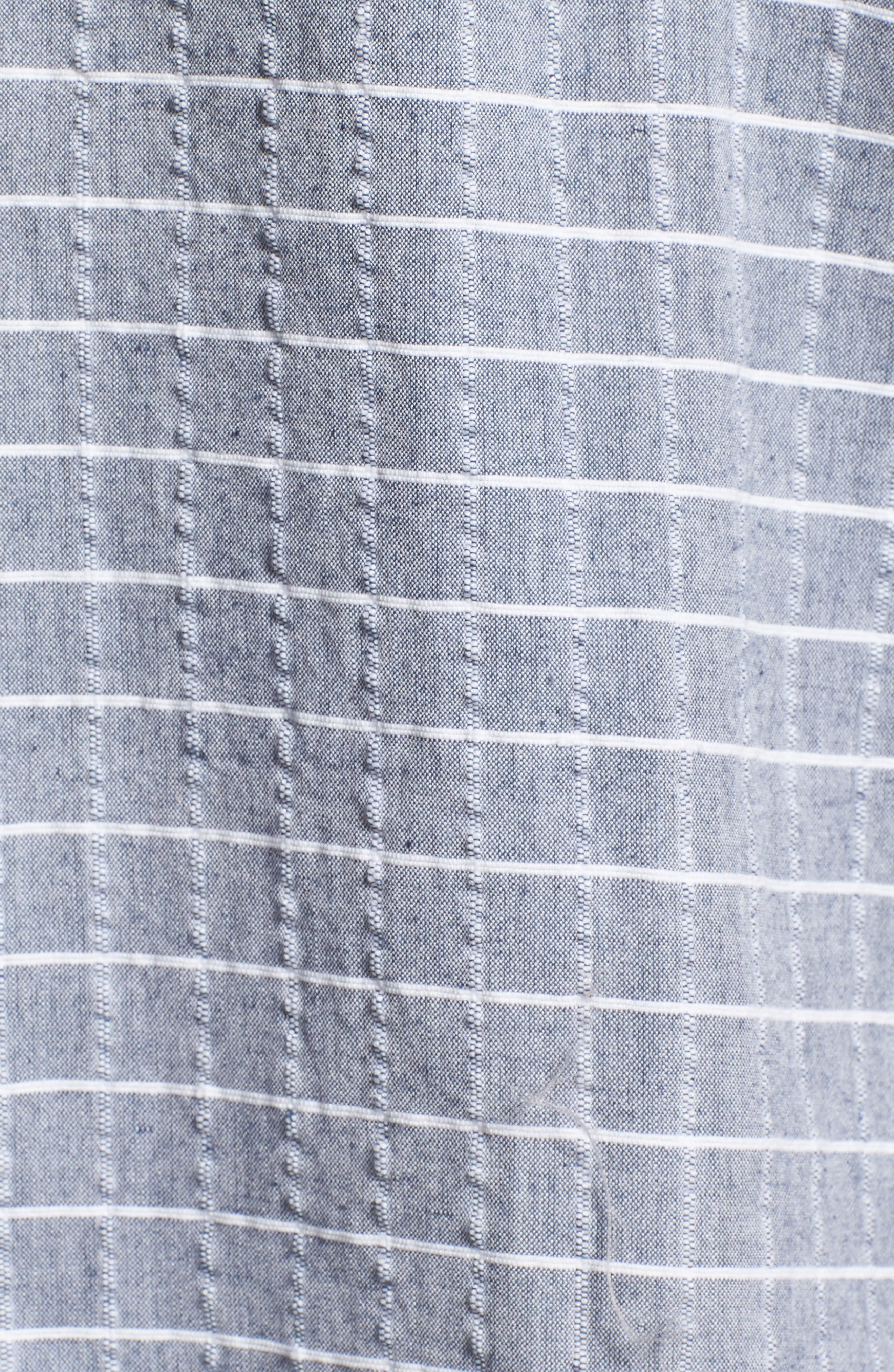 Wesley Woven Shirt,                             Alternate thumbnail 5, color,                             True Blue Stripe