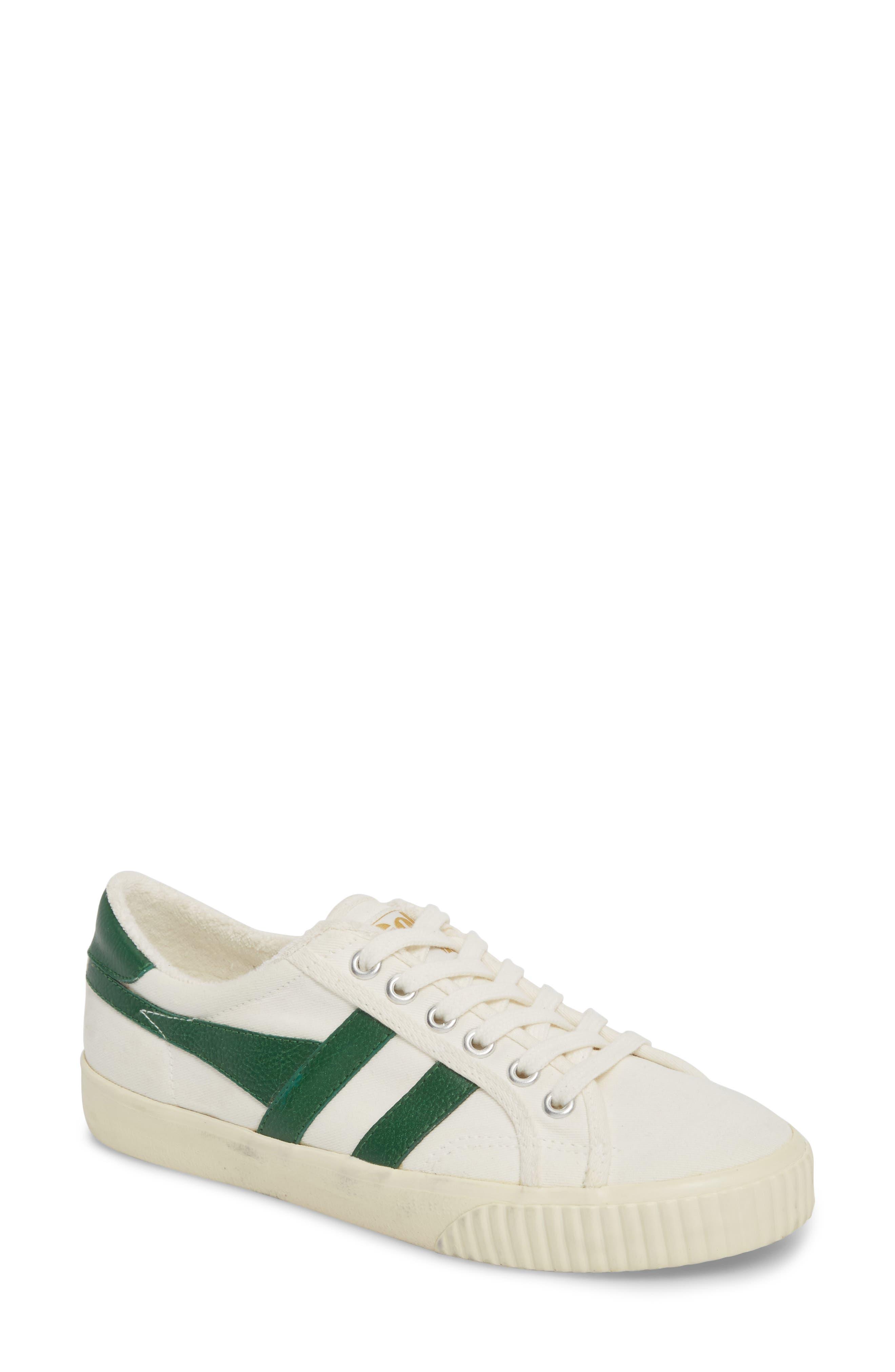 Tennis Mark Cox Sneaker,                             Main thumbnail 1, color,                             Off White/ Green