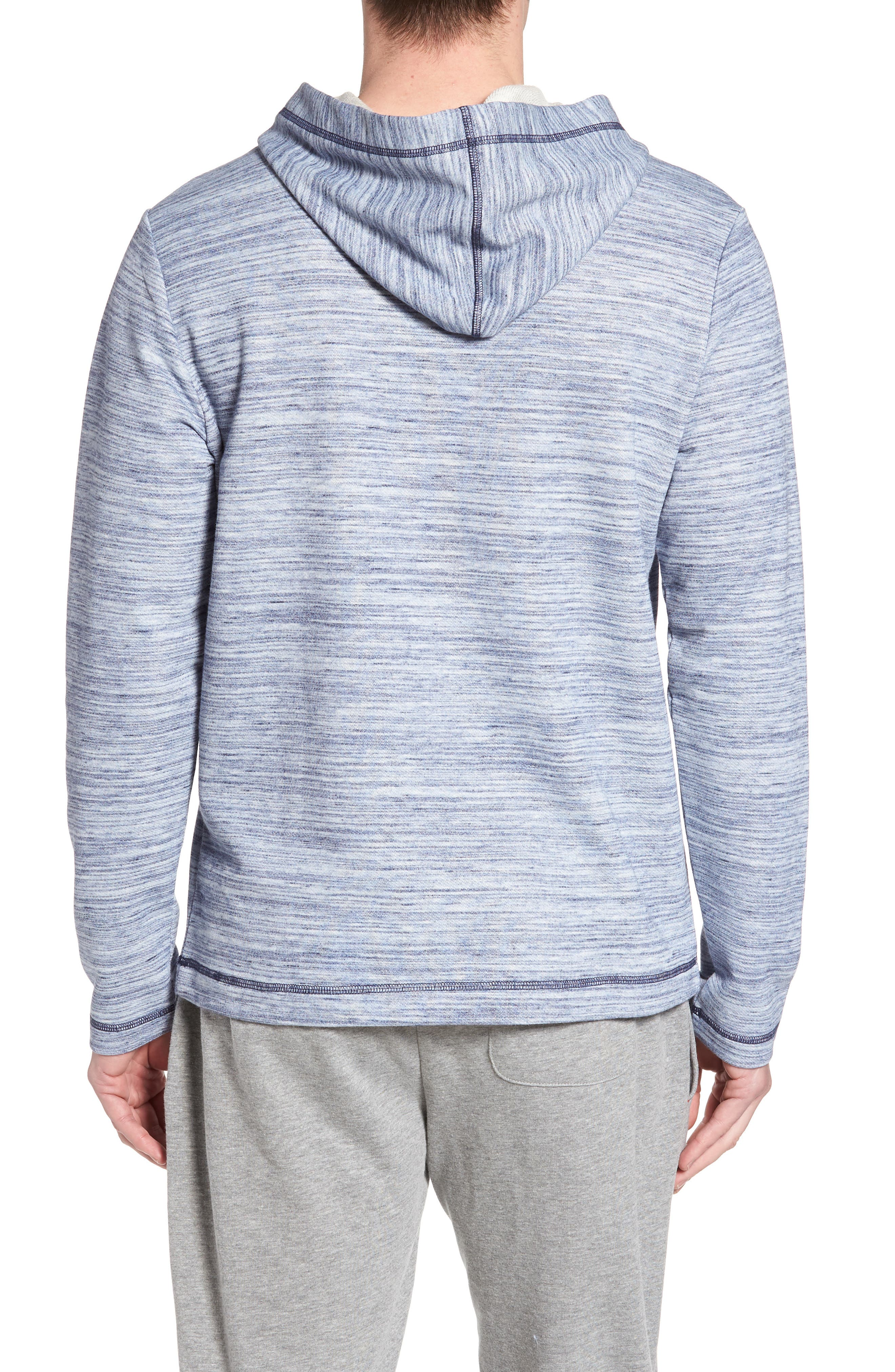 Swept in Waves Hoodie,                             Alternate thumbnail 2, color,                             Alfresco French Terry