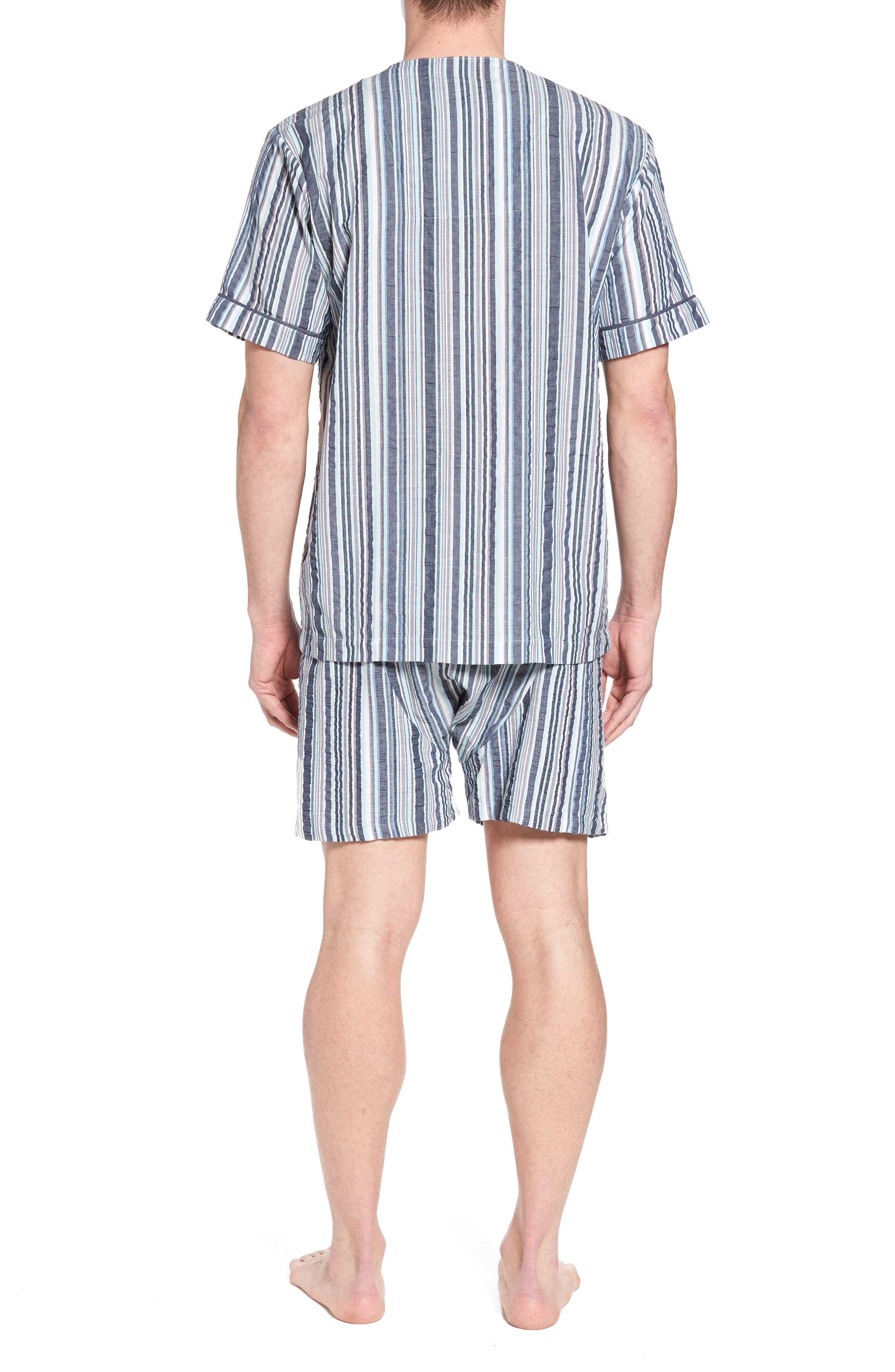 Summer Shell Short Pajamas,                             Alternate thumbnail 2, color,                             Ash