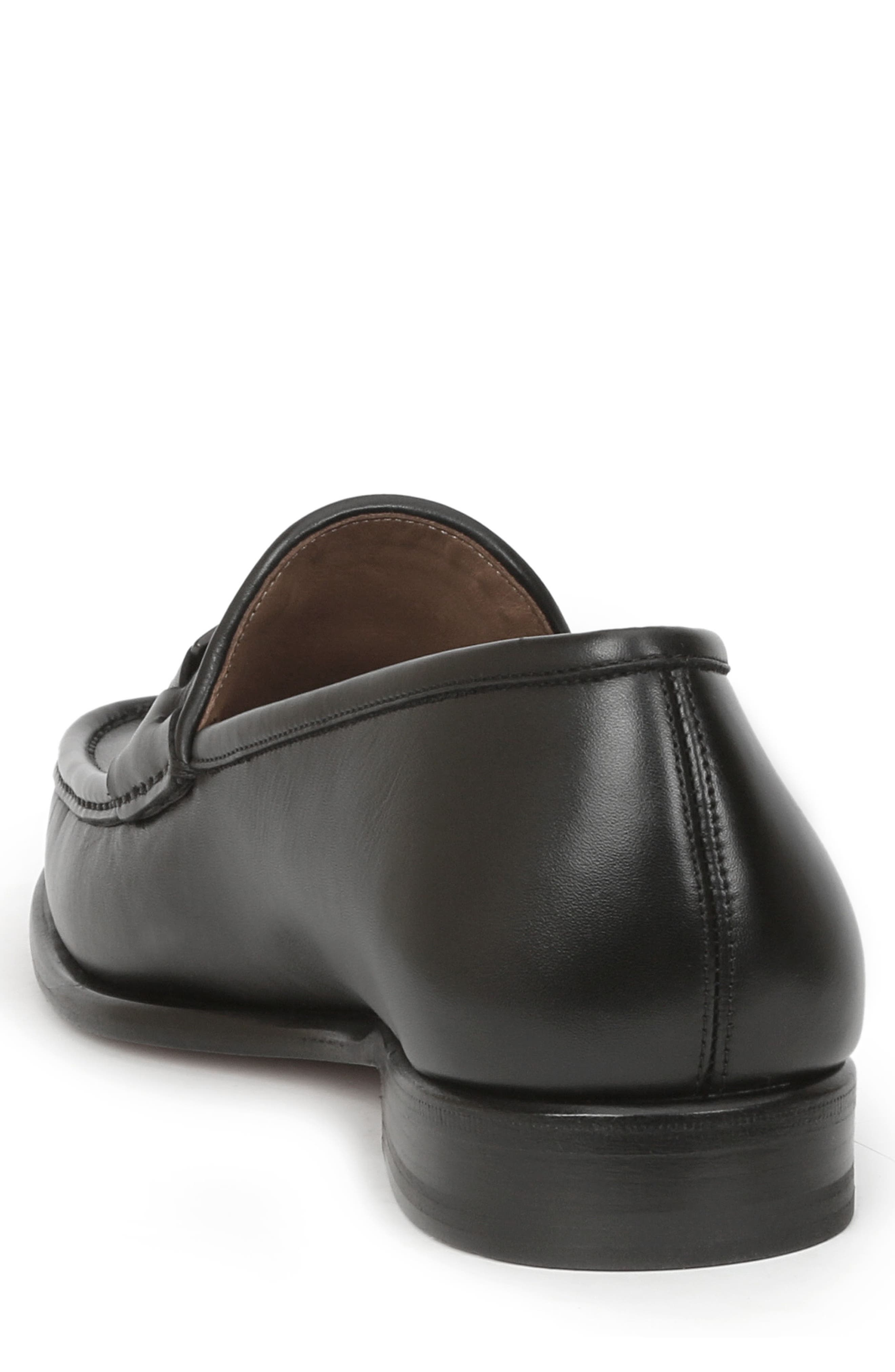 Enzo Bit Loafer,                             Alternate thumbnail 2, color,                             Black